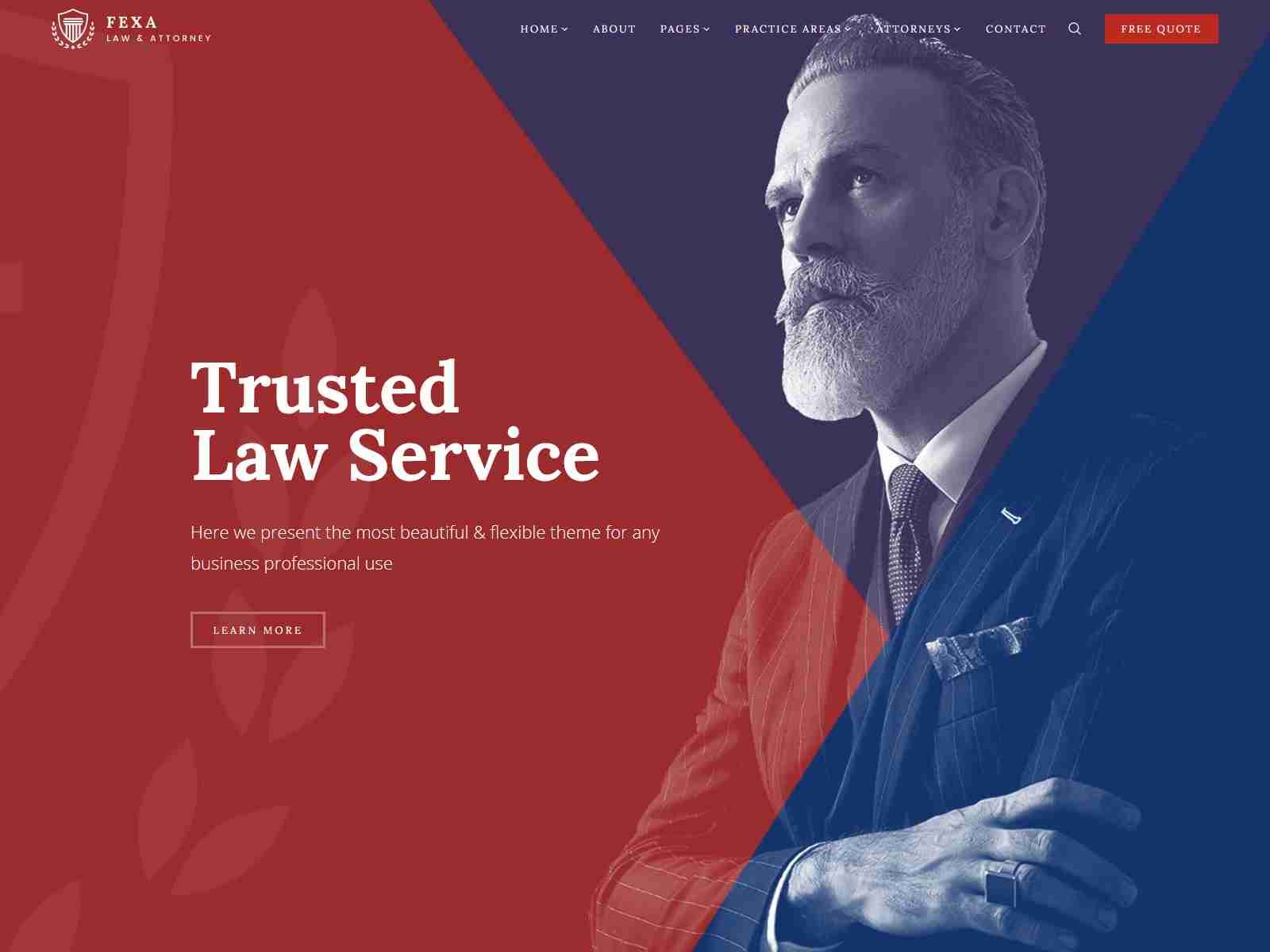 Fexa- Lawyer & Attorney WordPress Theme Consulting Firms WordPress Themes