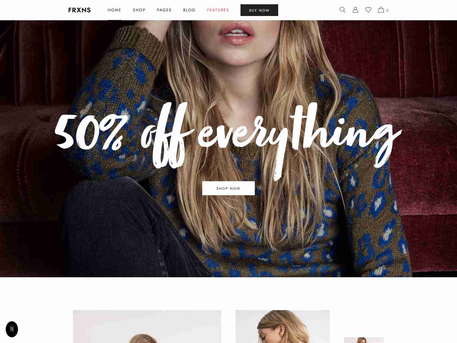 Fraxinus - WooCommerce WordPress Theme