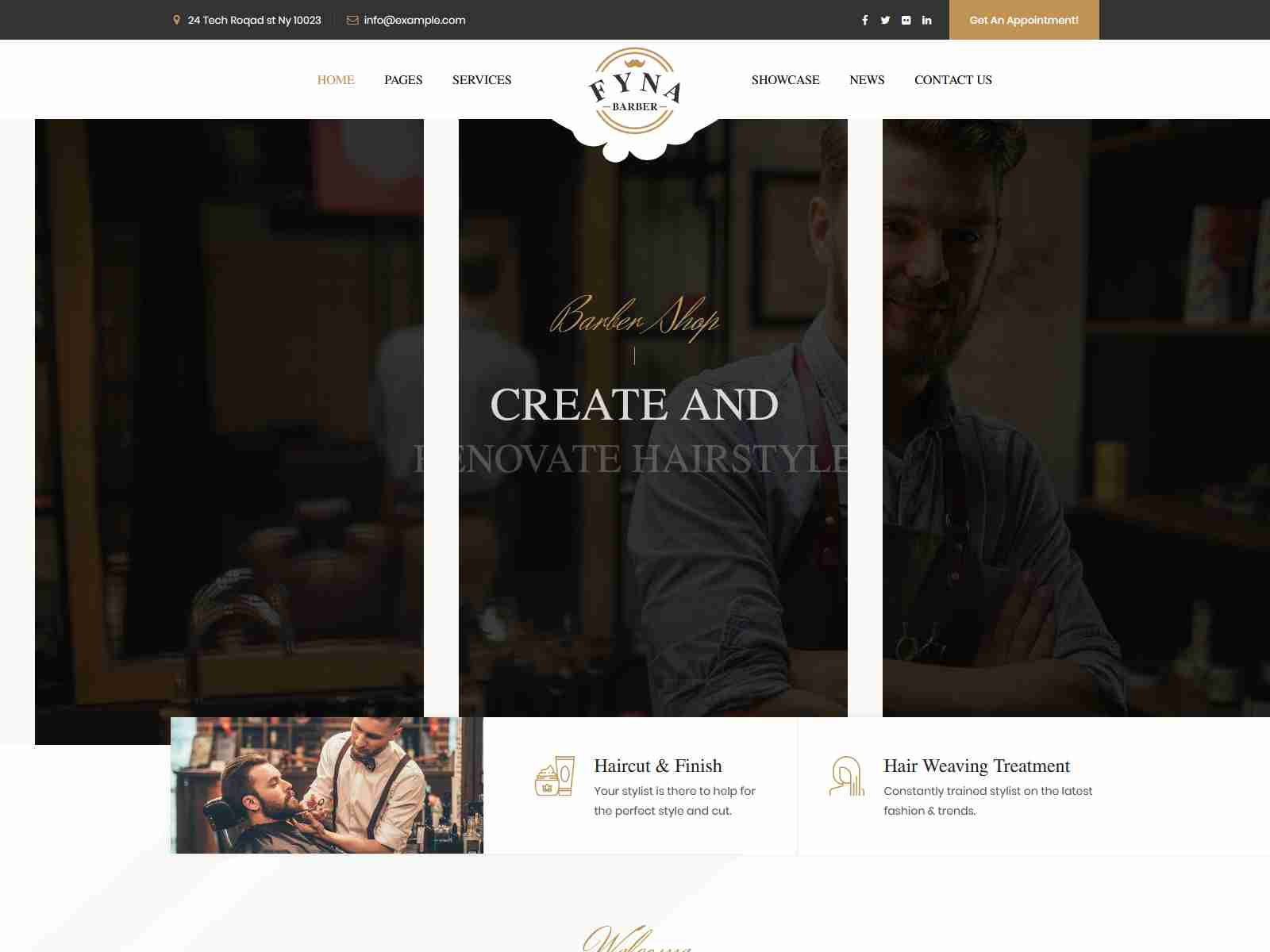 Fyna - Beauty salon and Spa WordPress Theme