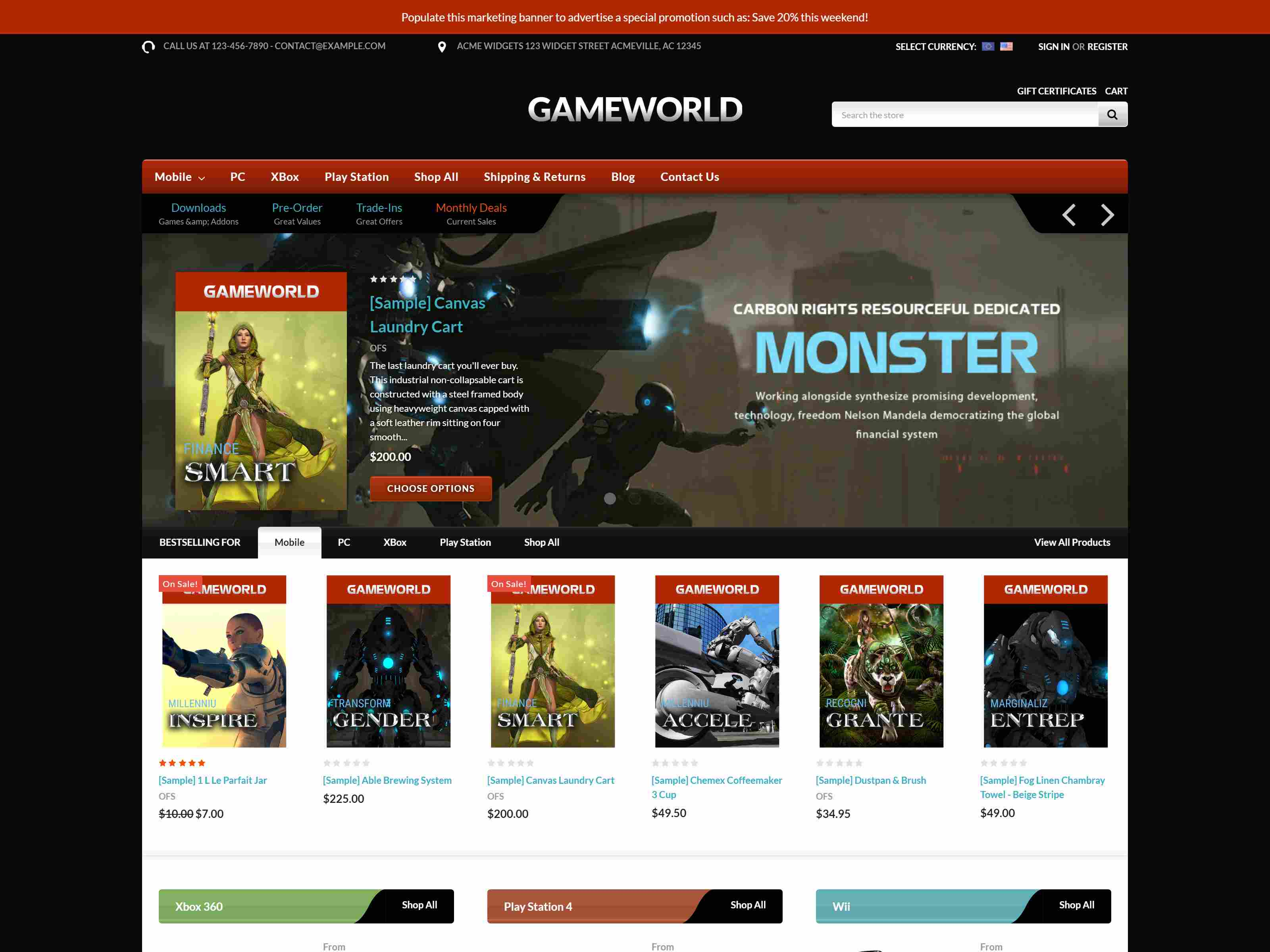 Best Premium Gaming BigCommerce Themes