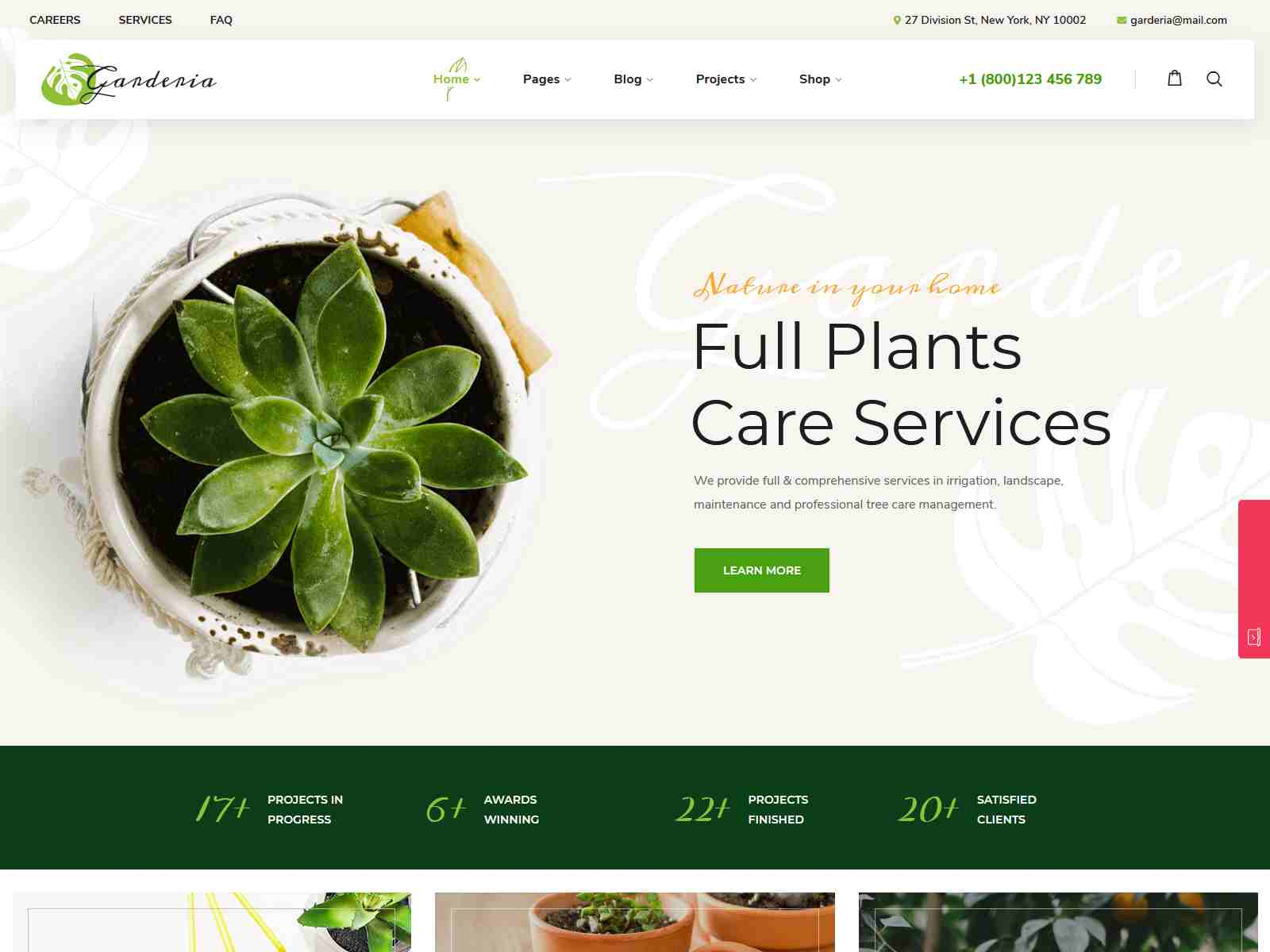 Best Premium Landscaper WordPress Themes
