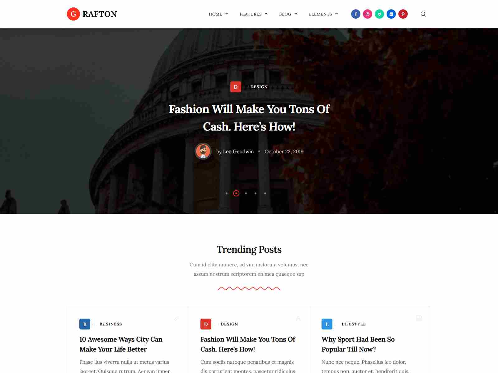 Grafton - Blog & Magazine WordPress Theme