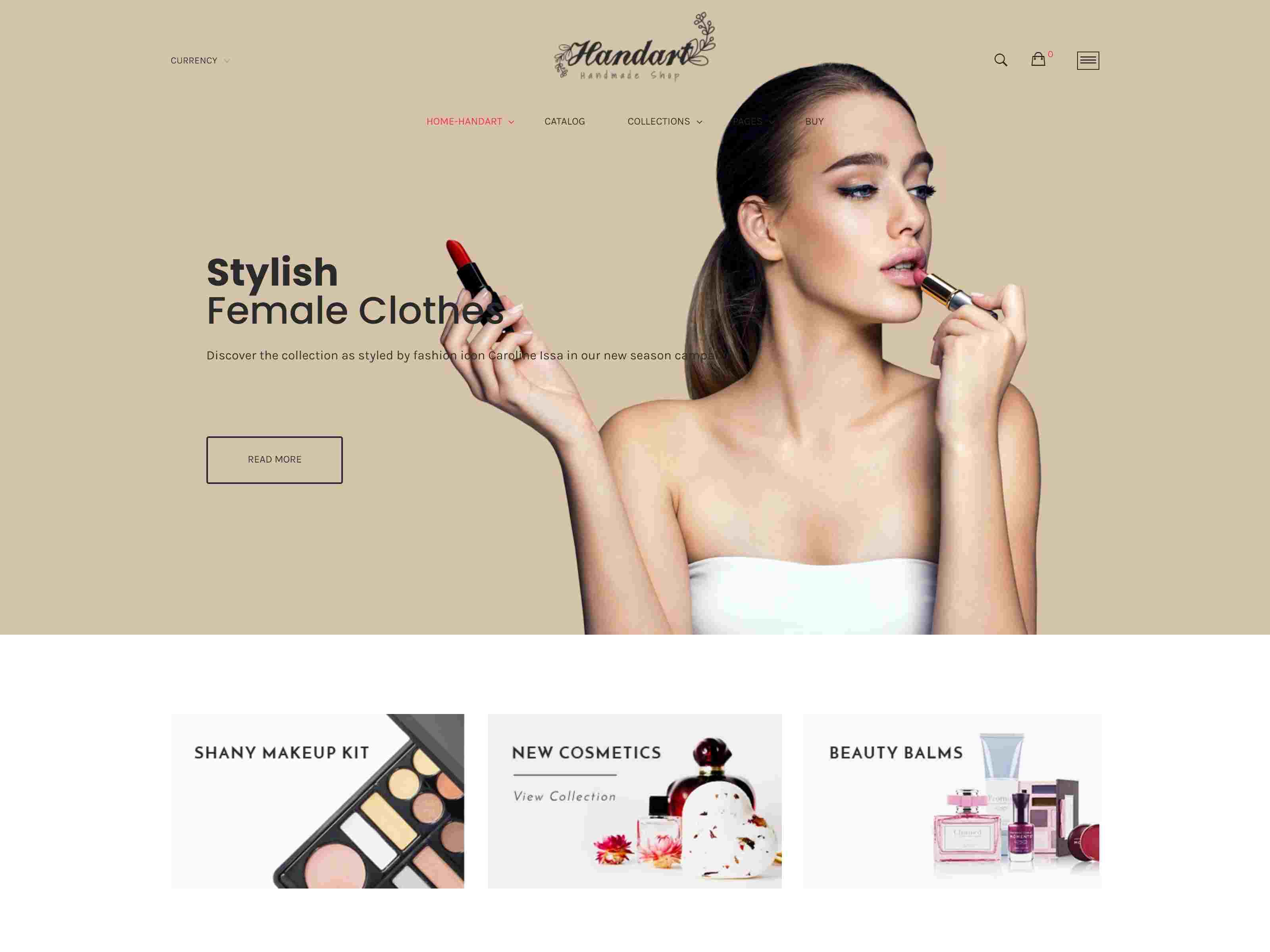 Best Premium Cosmetic Shopify Themes