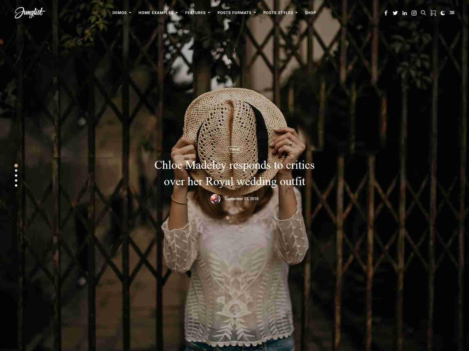 Harmuny - Modern WordPress Blog Theme