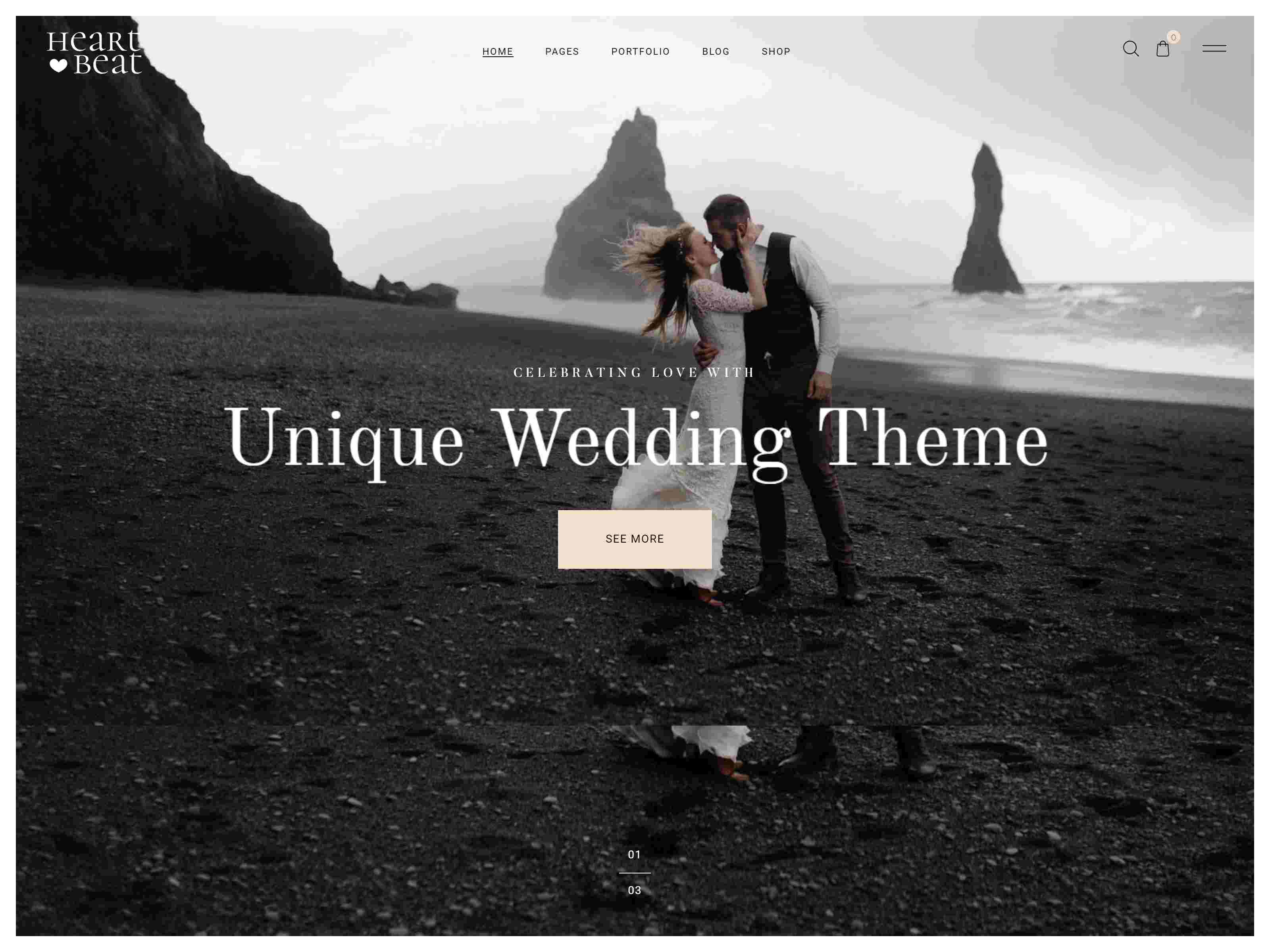 Heartbeat - Wedding and Event Planner WordPress Theme