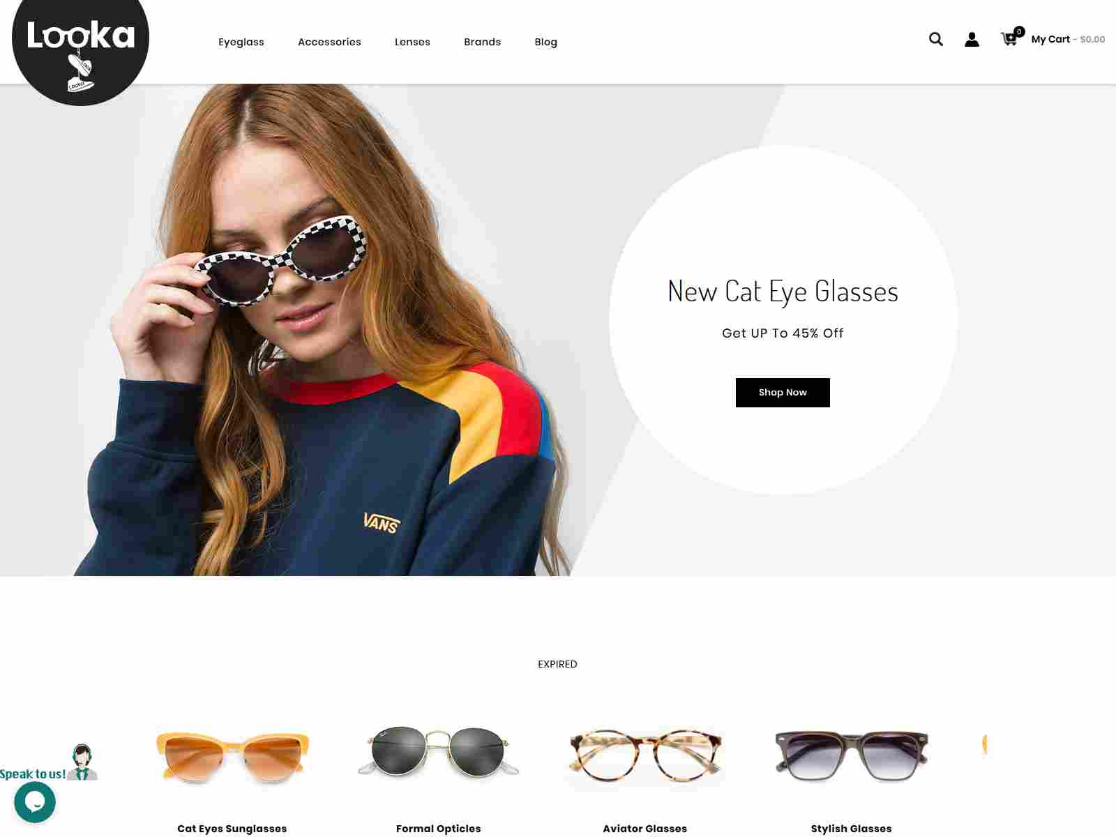 Looka - Glasses & Shoes Prestashop 1.7 Responsive Theme