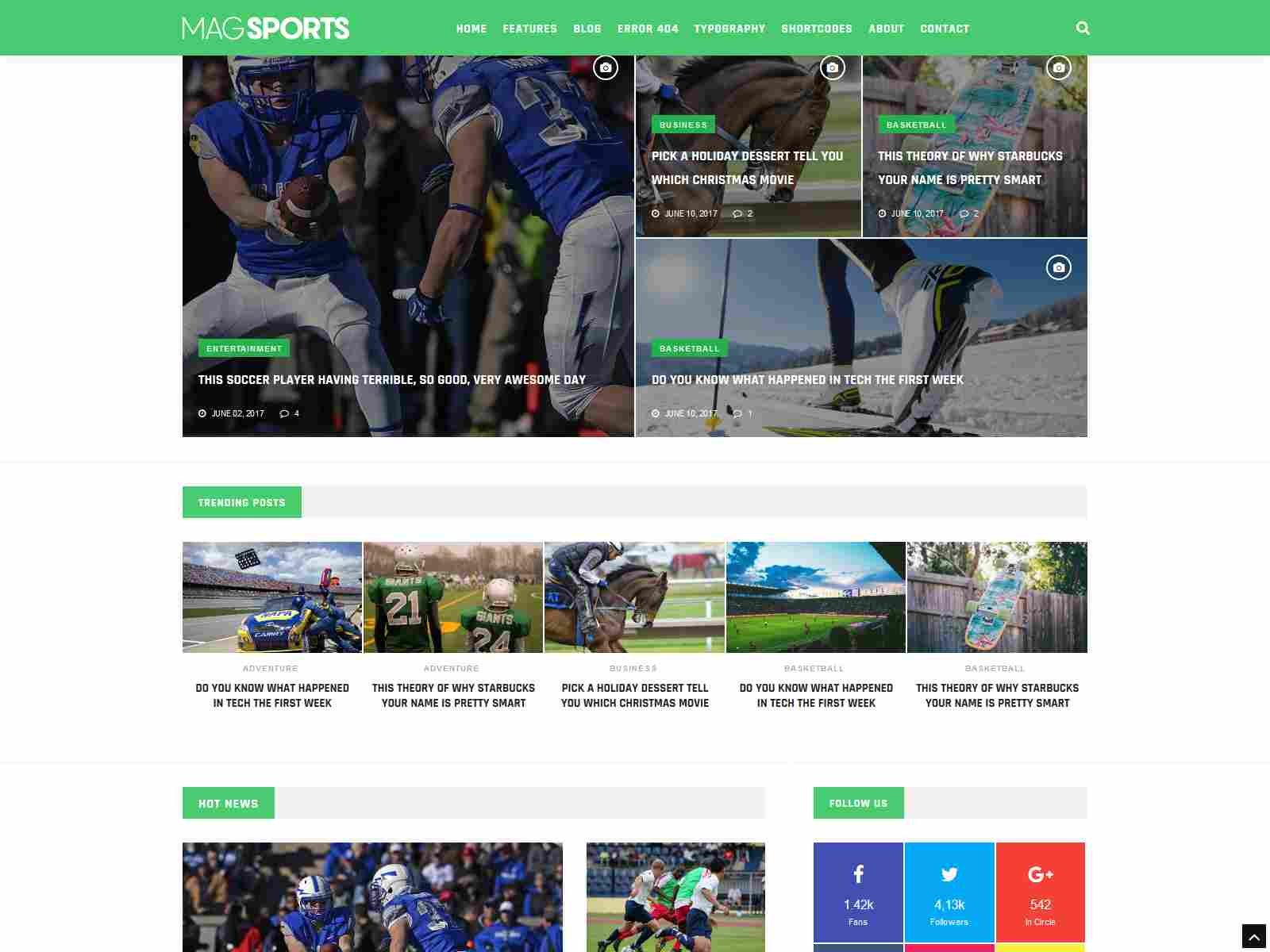 MagSports - News Editorial & Magazine Drupal 8.8 Theme