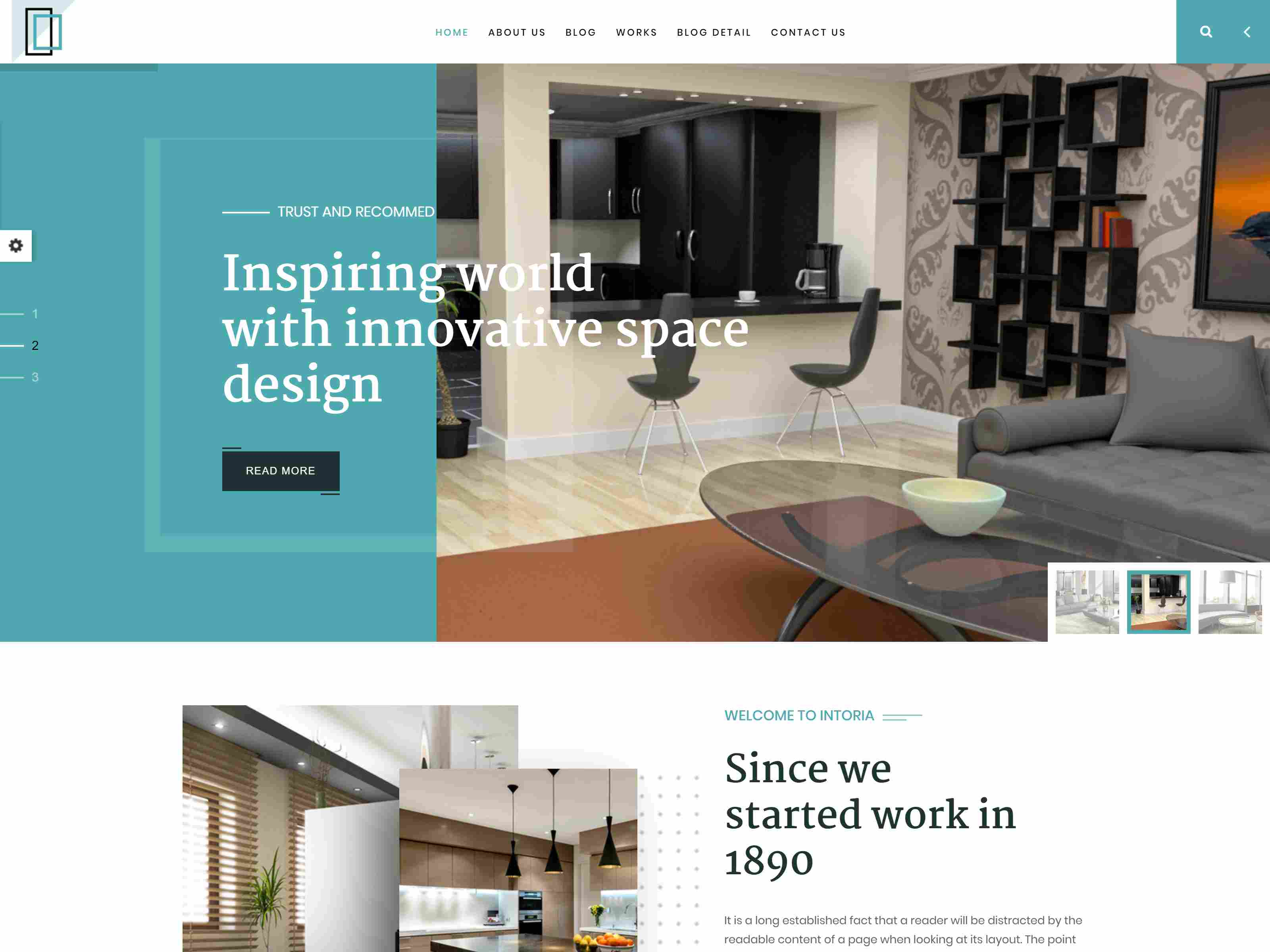 Best Premium Interior Drupal Themes