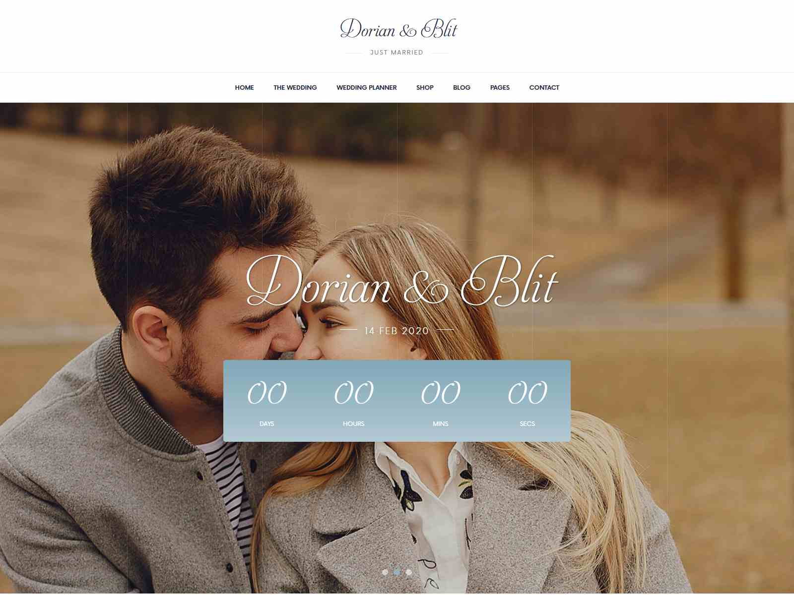 Jolly - Wedding Invitation & Planner WordPress Theme