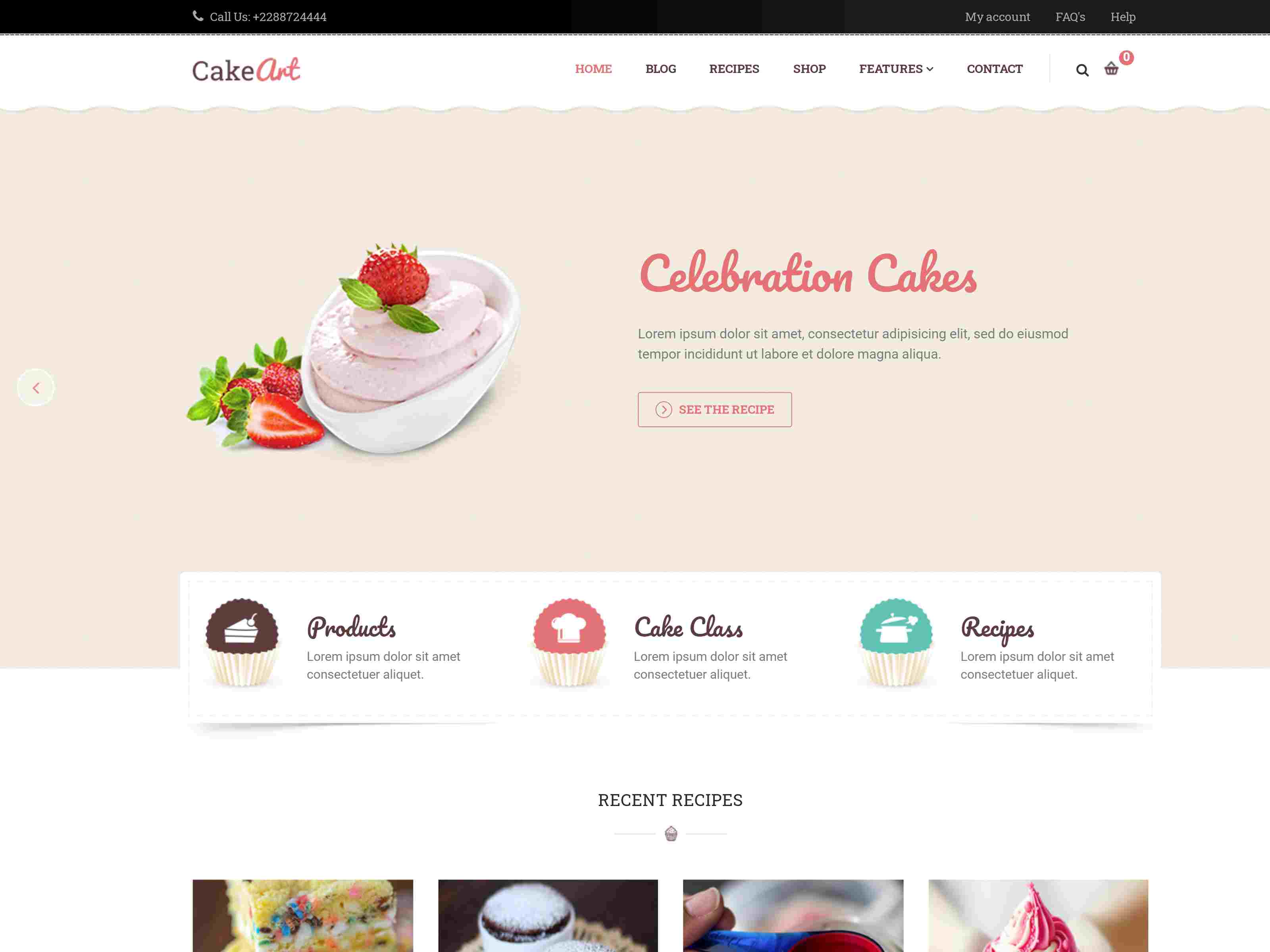 Best Premium Bakery Joomla Themes