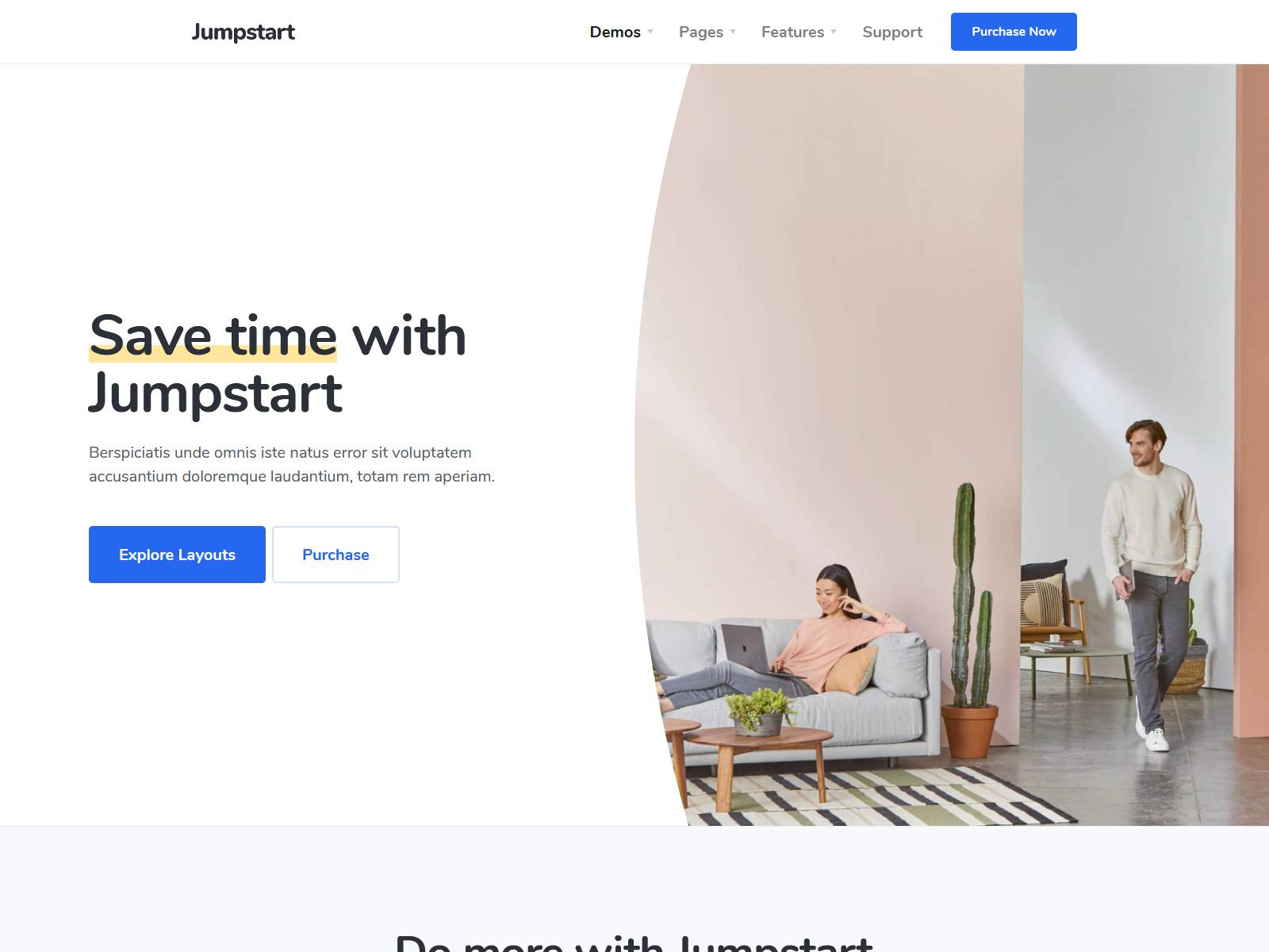 Jumpstart - App and Software WordPress Theme