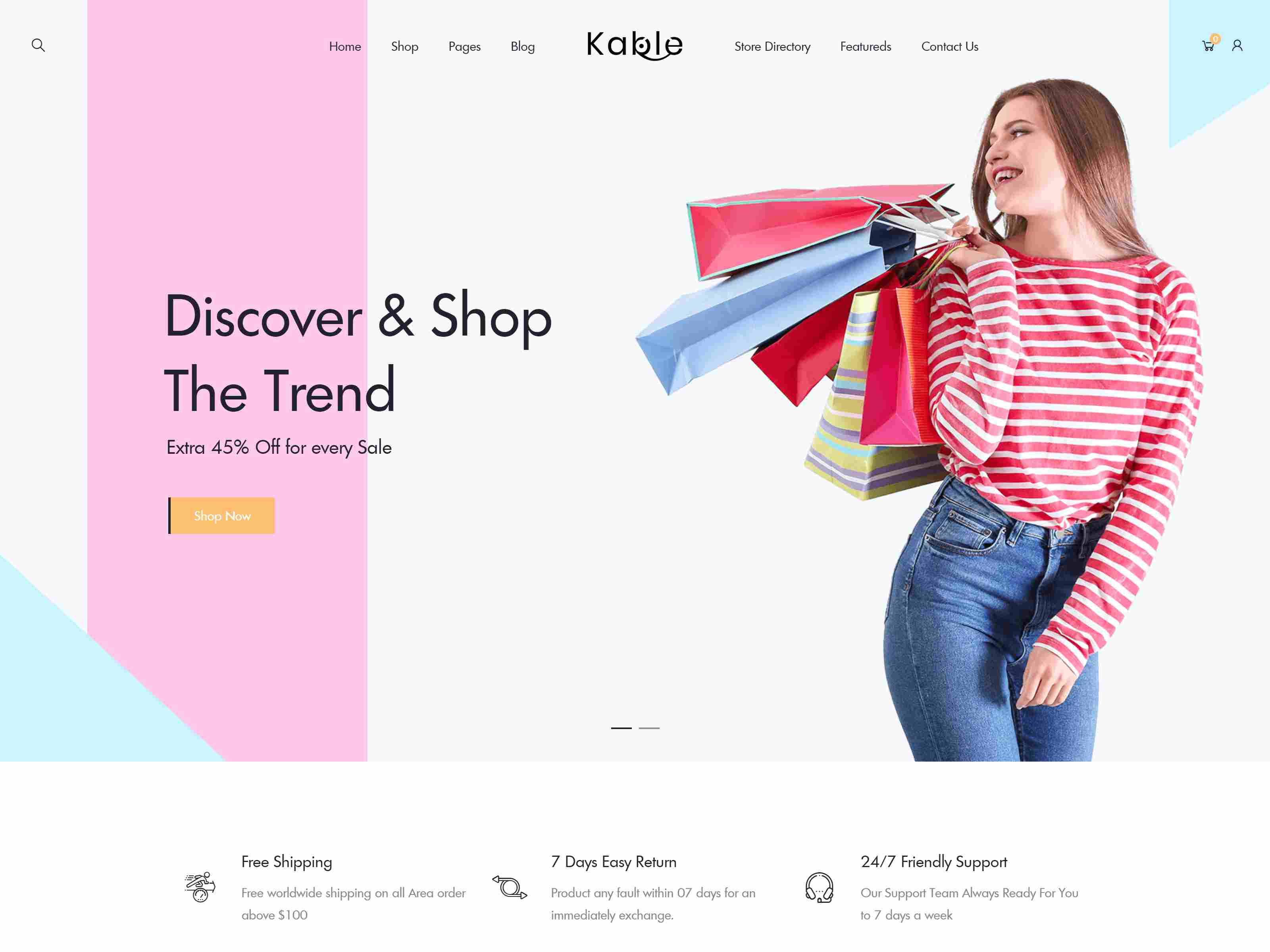 Kable - Multipurpose WooCommerce Theme