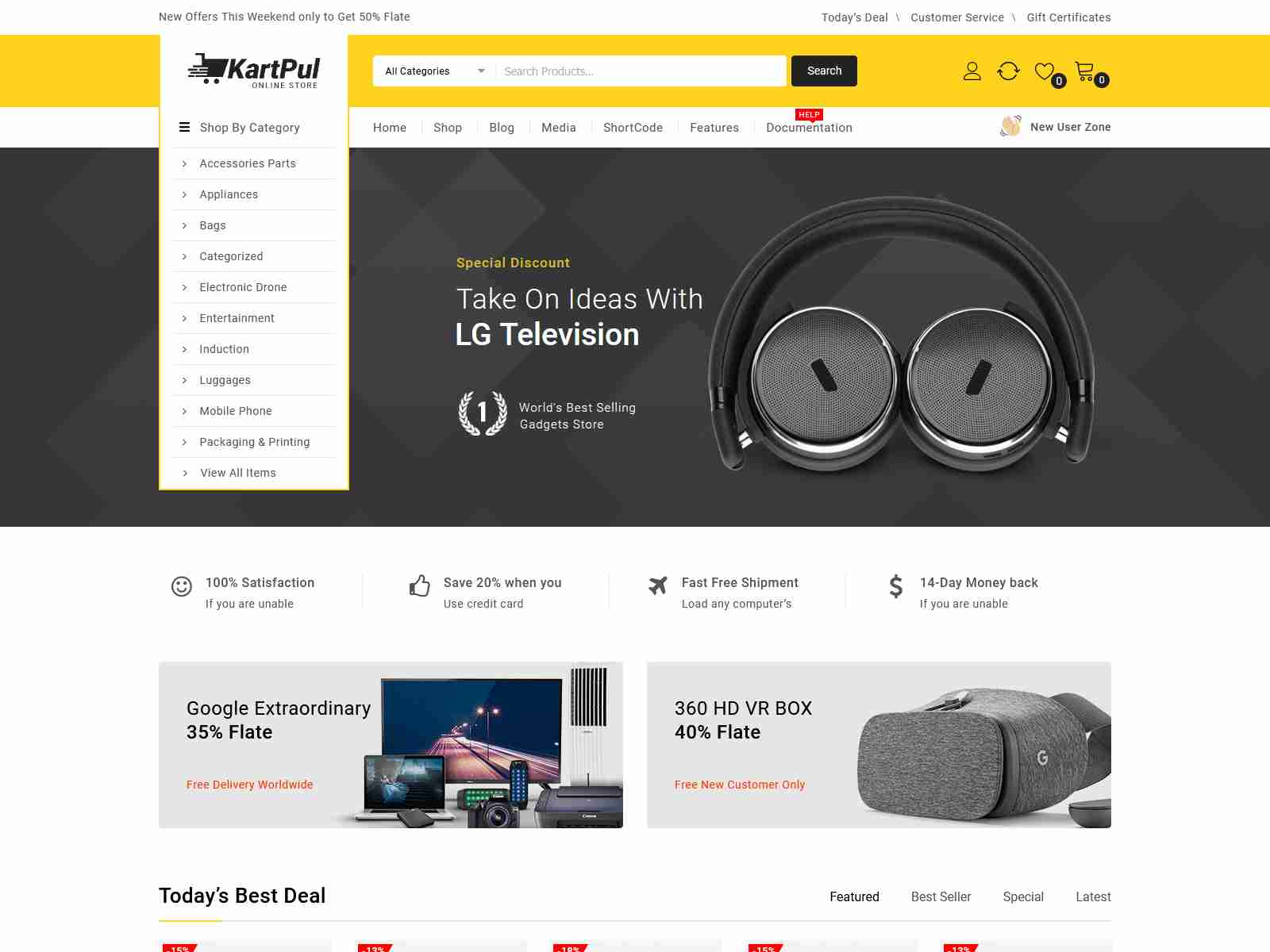 KartPul - Multipurpose WooCommerce Theme