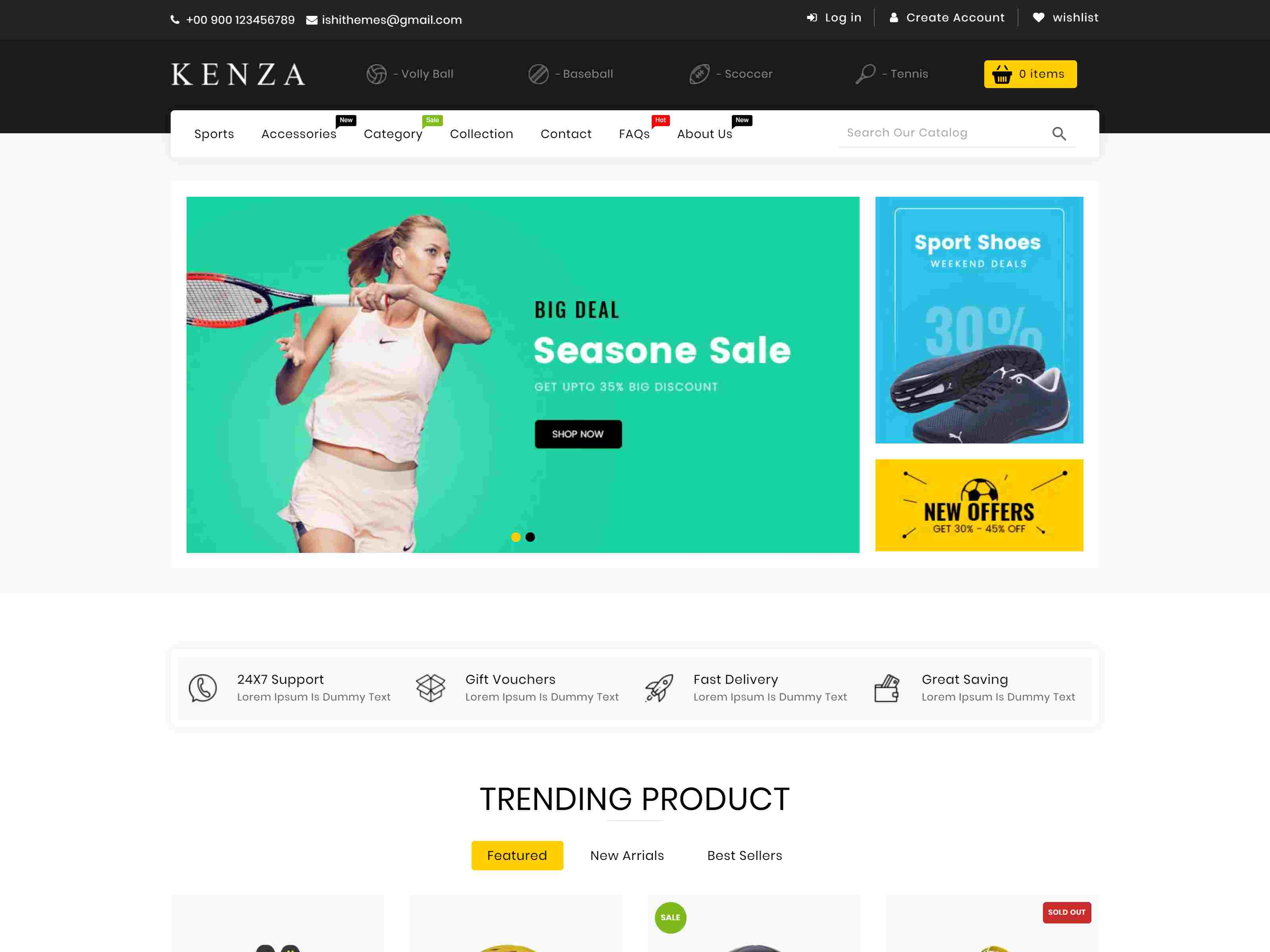 Kenza - Sectioned Multipurpose Shopify Theme