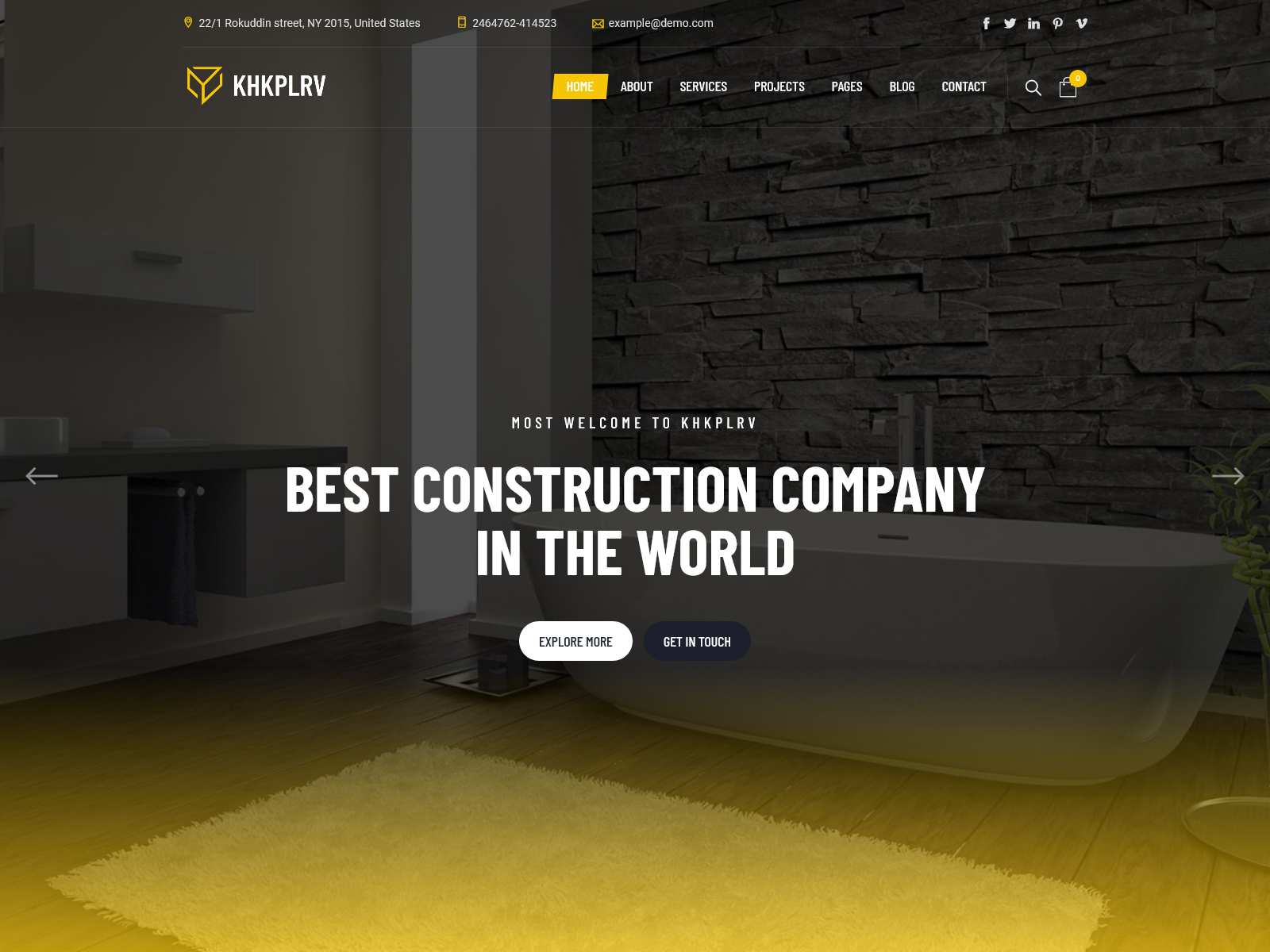 Best Premium Electrician WordPress Themes