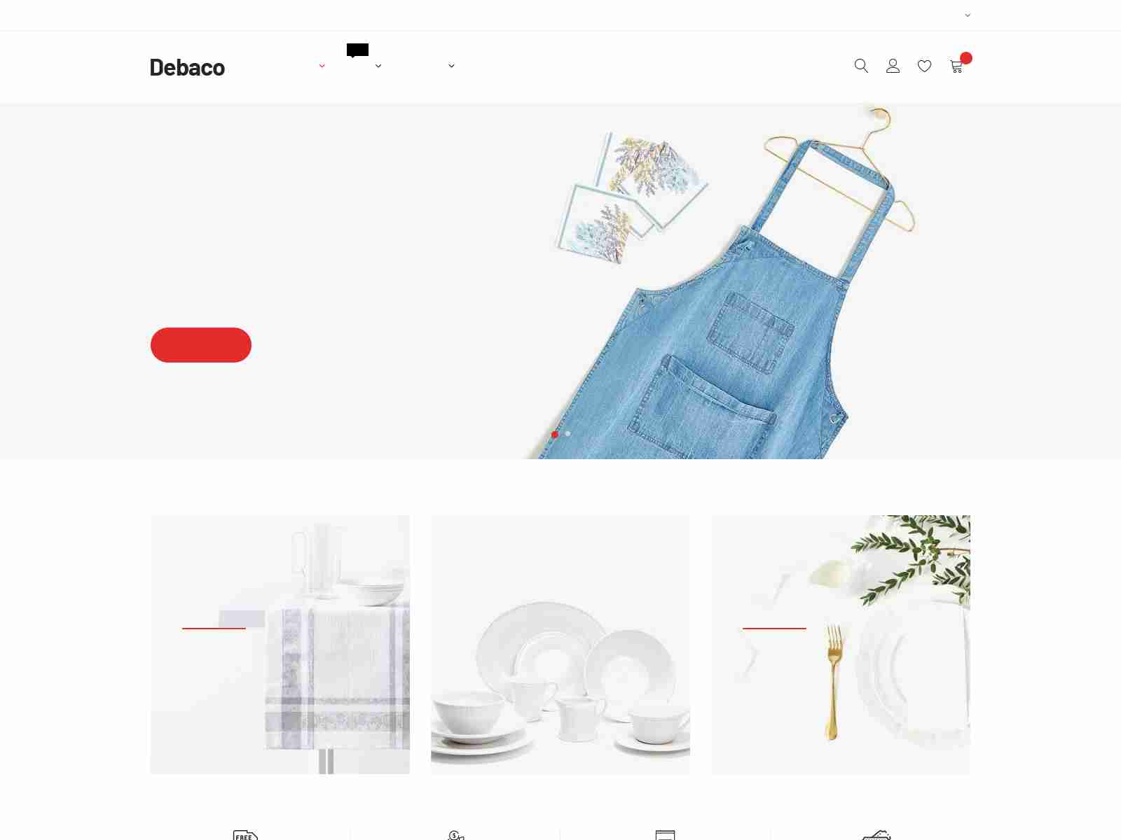 Kitchen Appliances Store Shopify Theme - Debaco