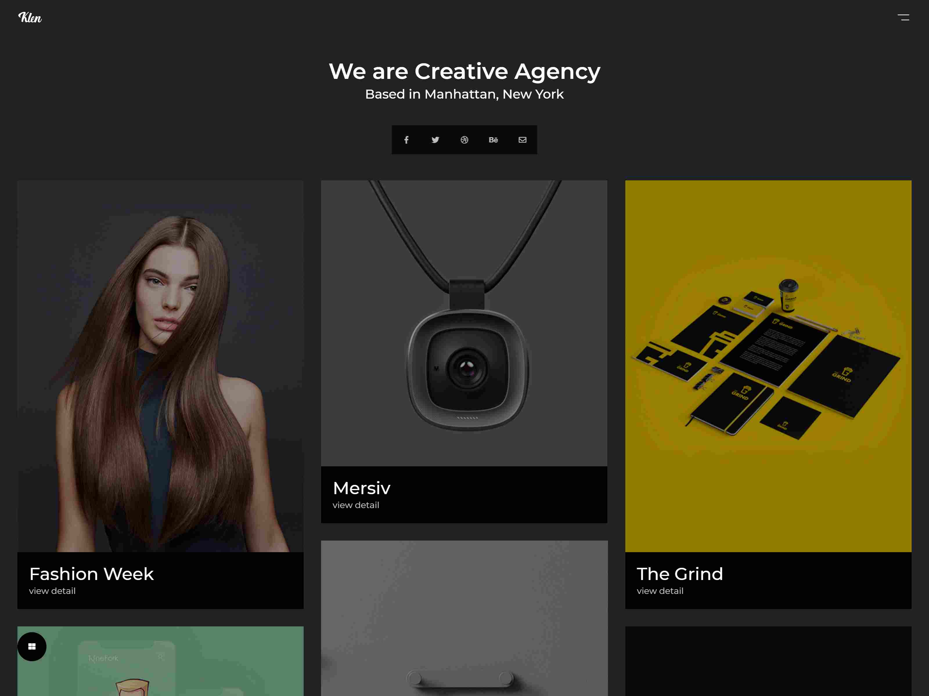 Klen - Creative Portfolio WordPress Theme