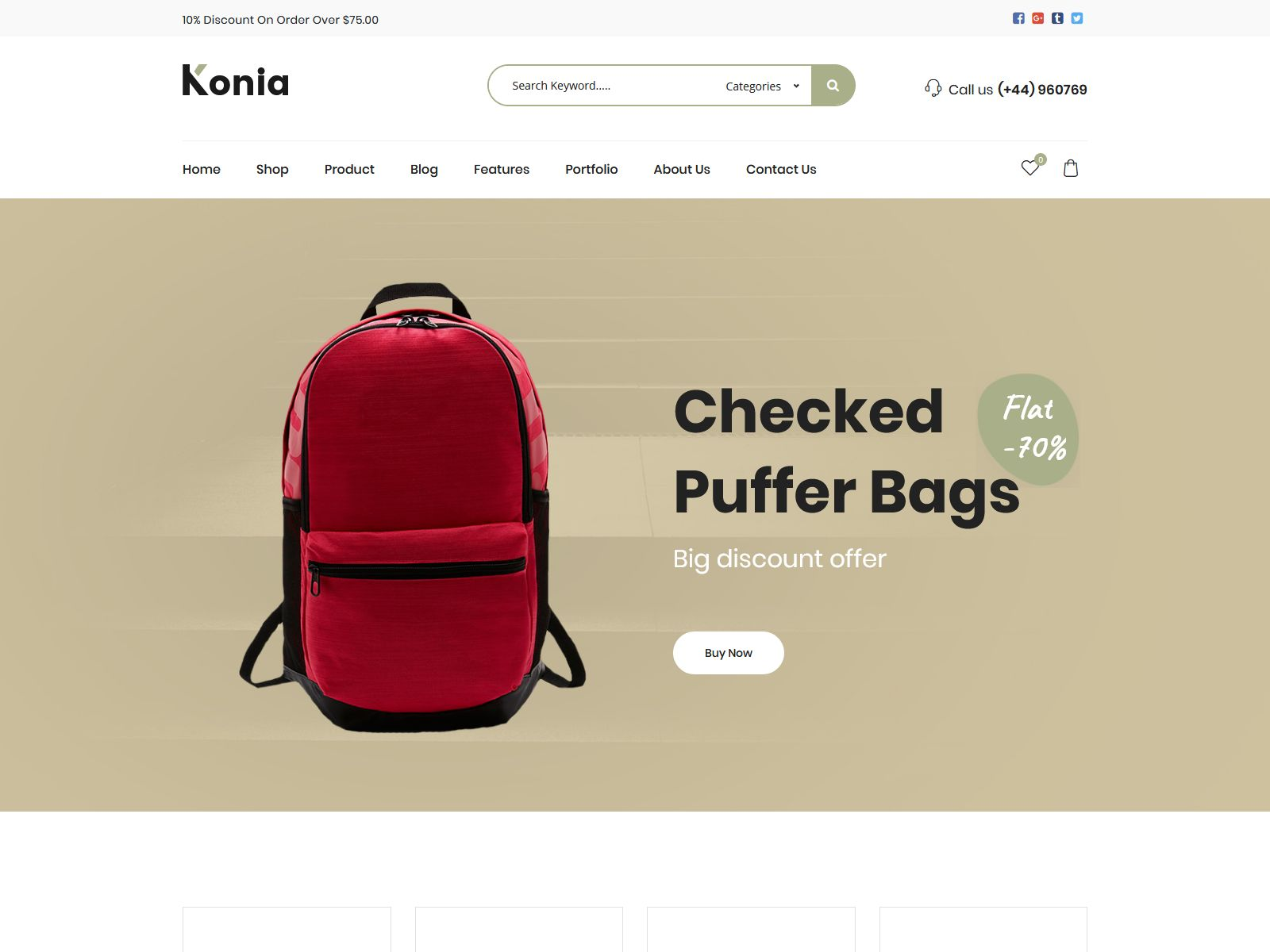 Konia - Responsive WooCommerce WordPress Theme