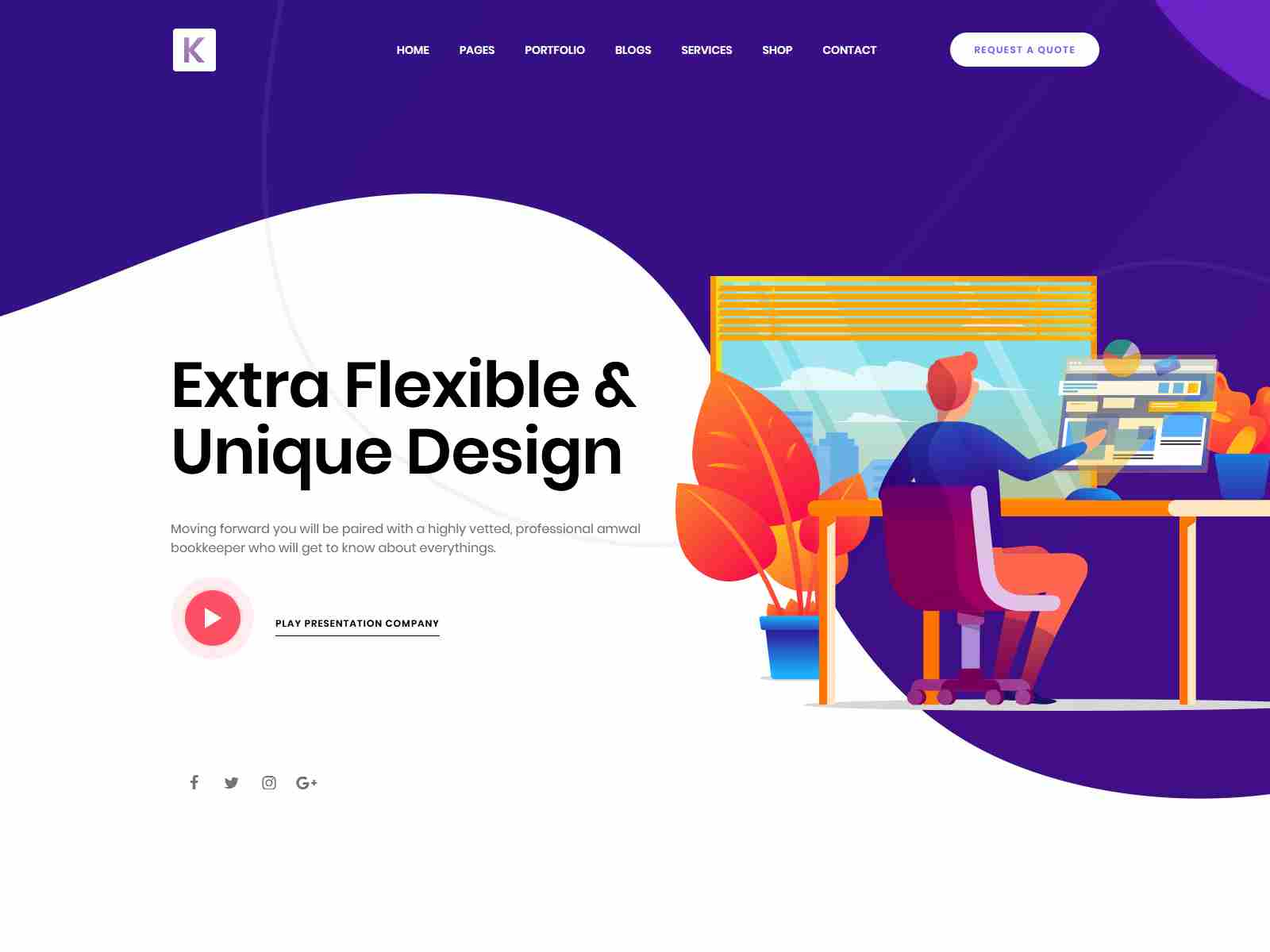 Kriativ - Creative Portfolio WordPress Theme