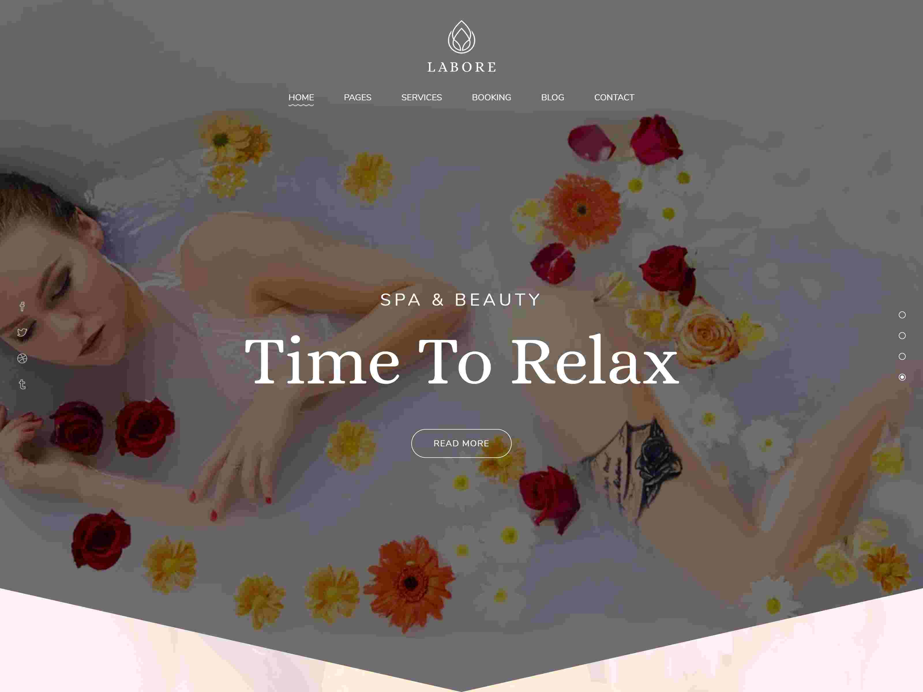 Labore - Spa & Beauty WordPress Theme