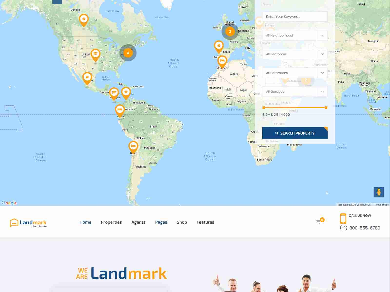 Landmark - Real Estate WordPress Theme real estate wordpress themes