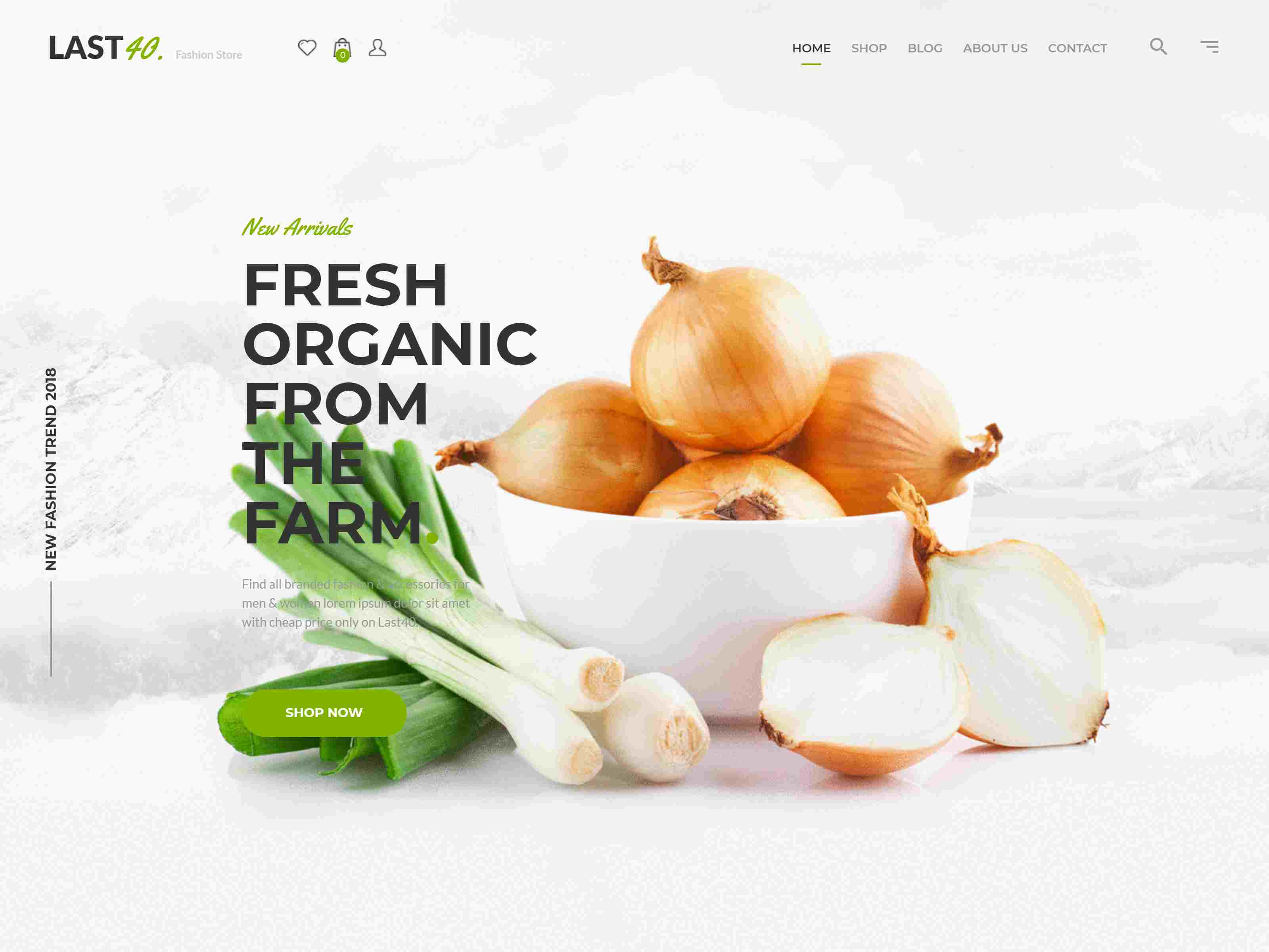 Best Premium Shopify Theme for Organic Fruits Shops, Vegetable Shop, and Grocery store