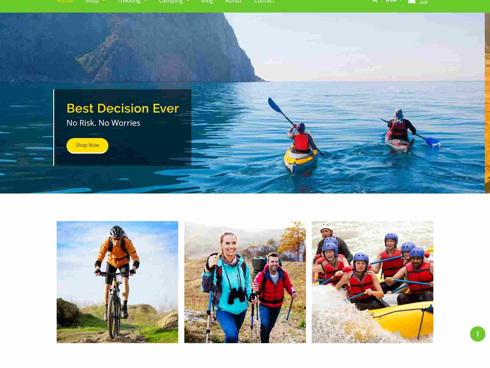 Best Premium Adventure Shopify Themes