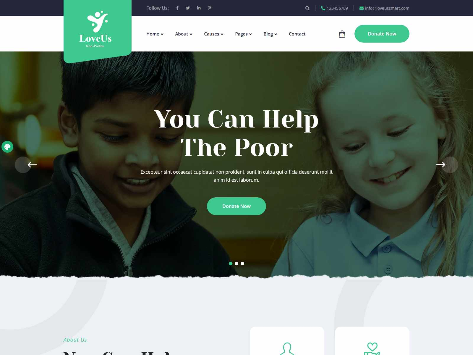 Best Premium Donation WordPress Themes