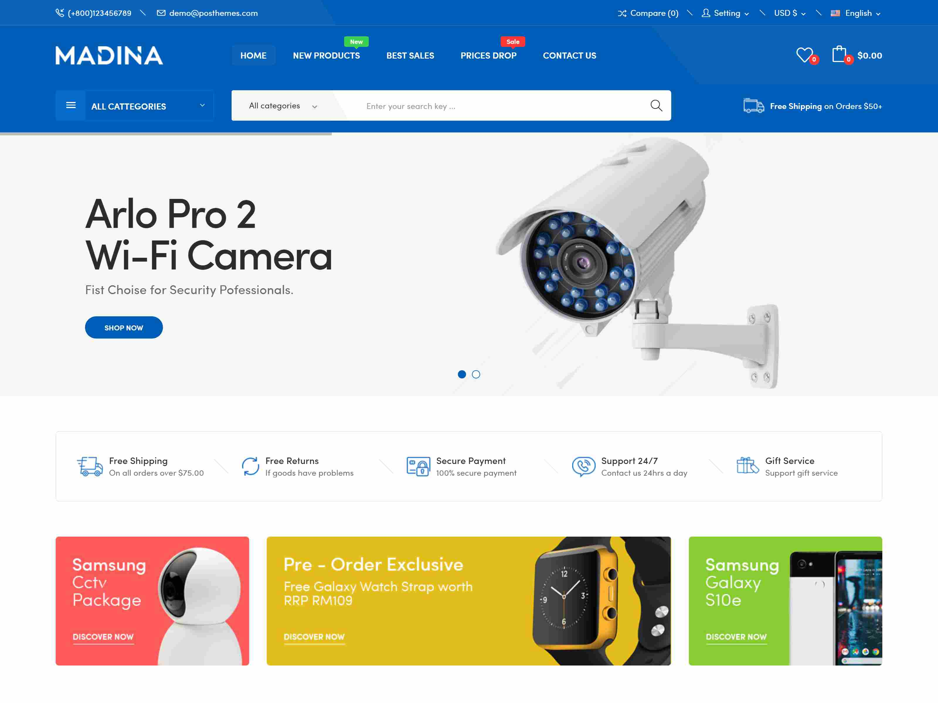 Best Premium Security PrestaShop Themes