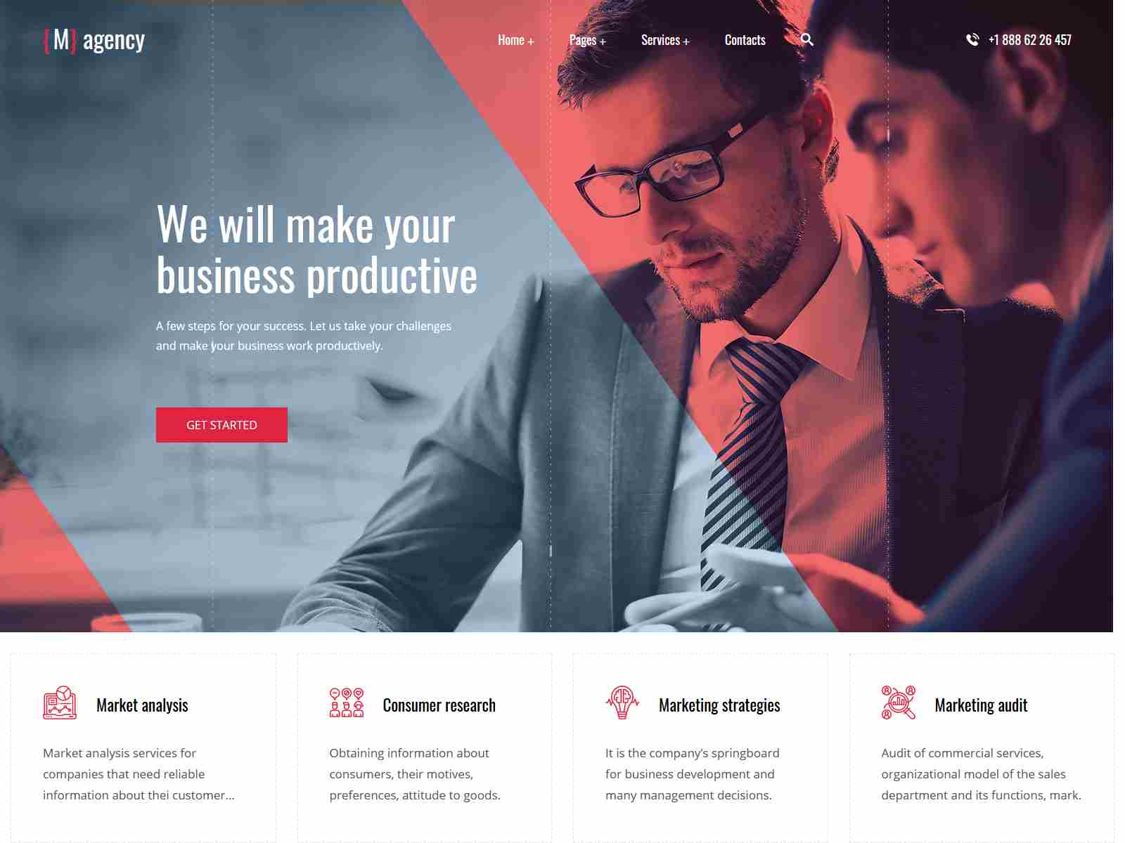 Magency - Marketing Company WordPress Theme