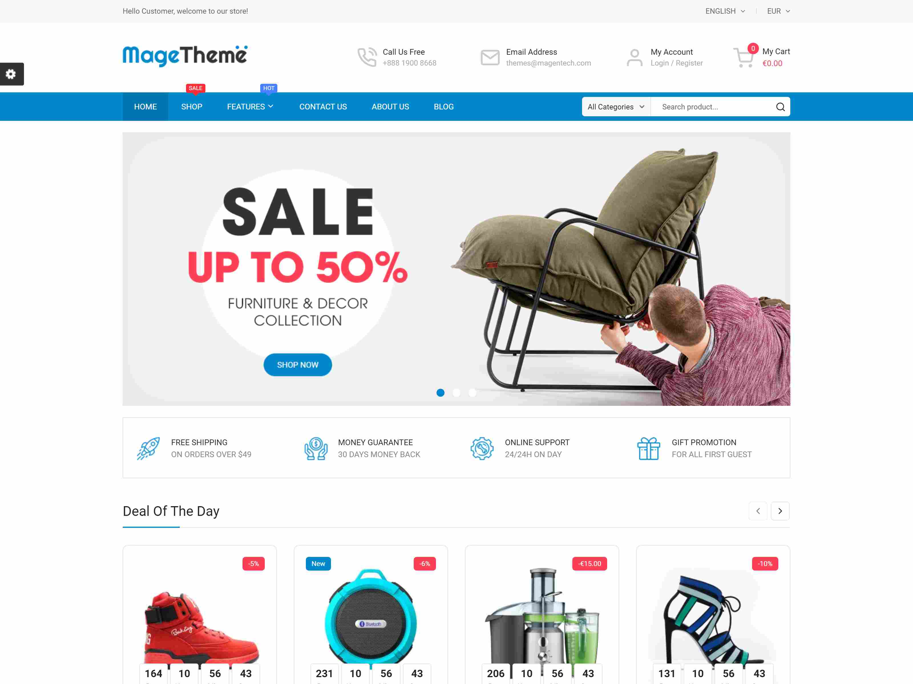 MageTheme - Responsive Prestashop 1.7 Shopping Template