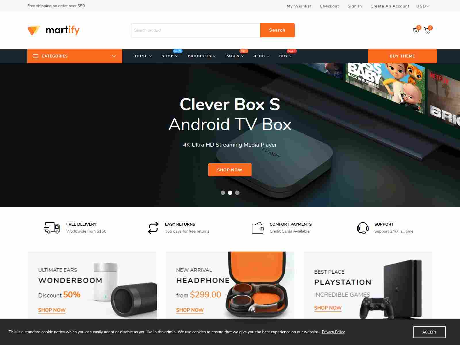 Martify - Gadgets & Digital Marketplace Shopify Theme