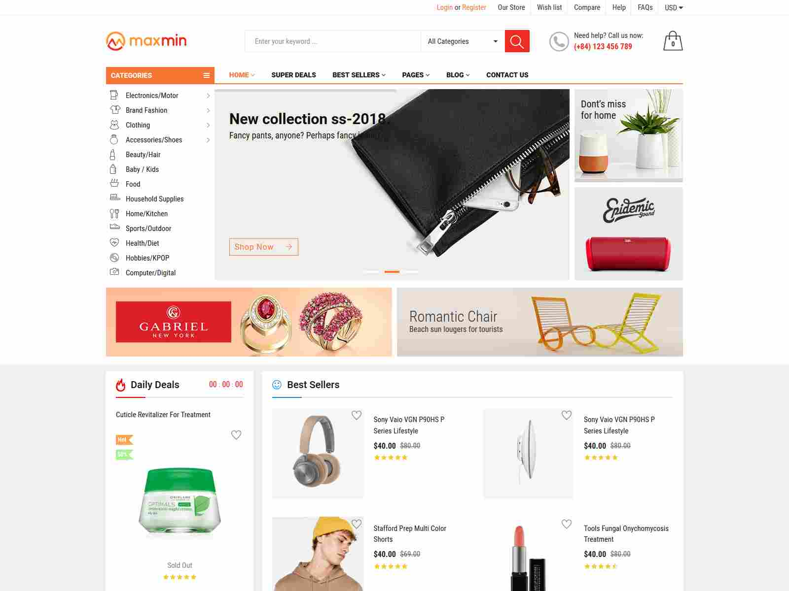MAXMIN - Dropshipping AliExpress Clone Shopify Theme