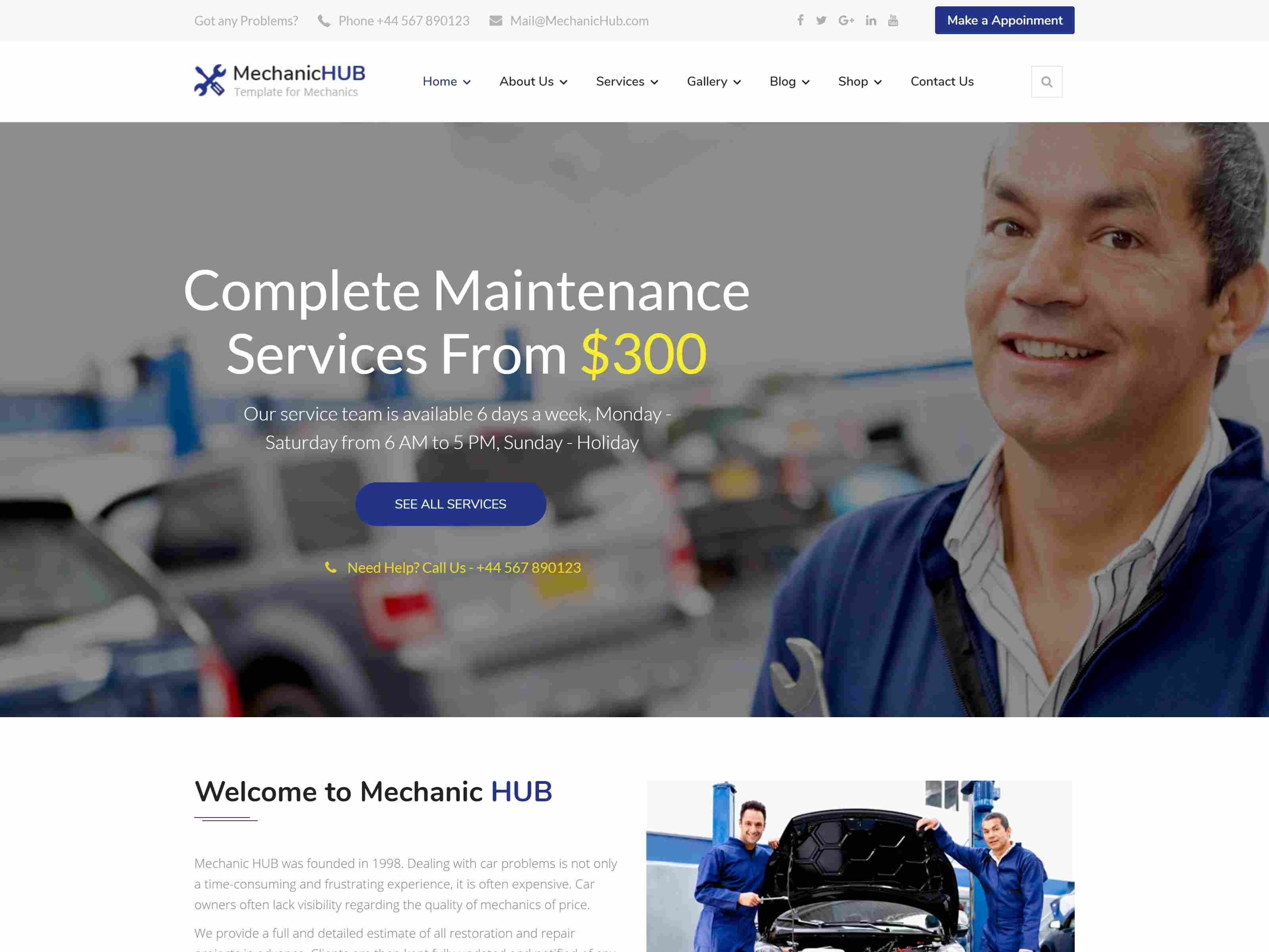 Best Premium Car Joomla Themes