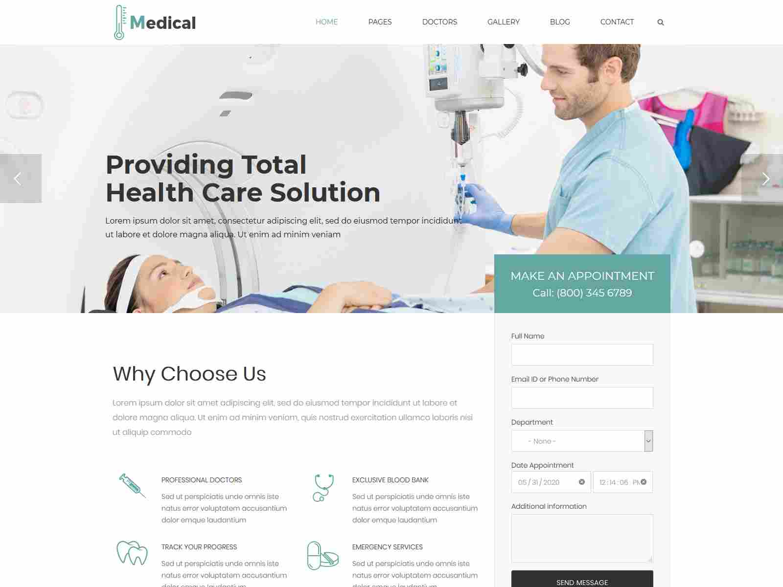 Medical - Health Drupal 8.8 Theme