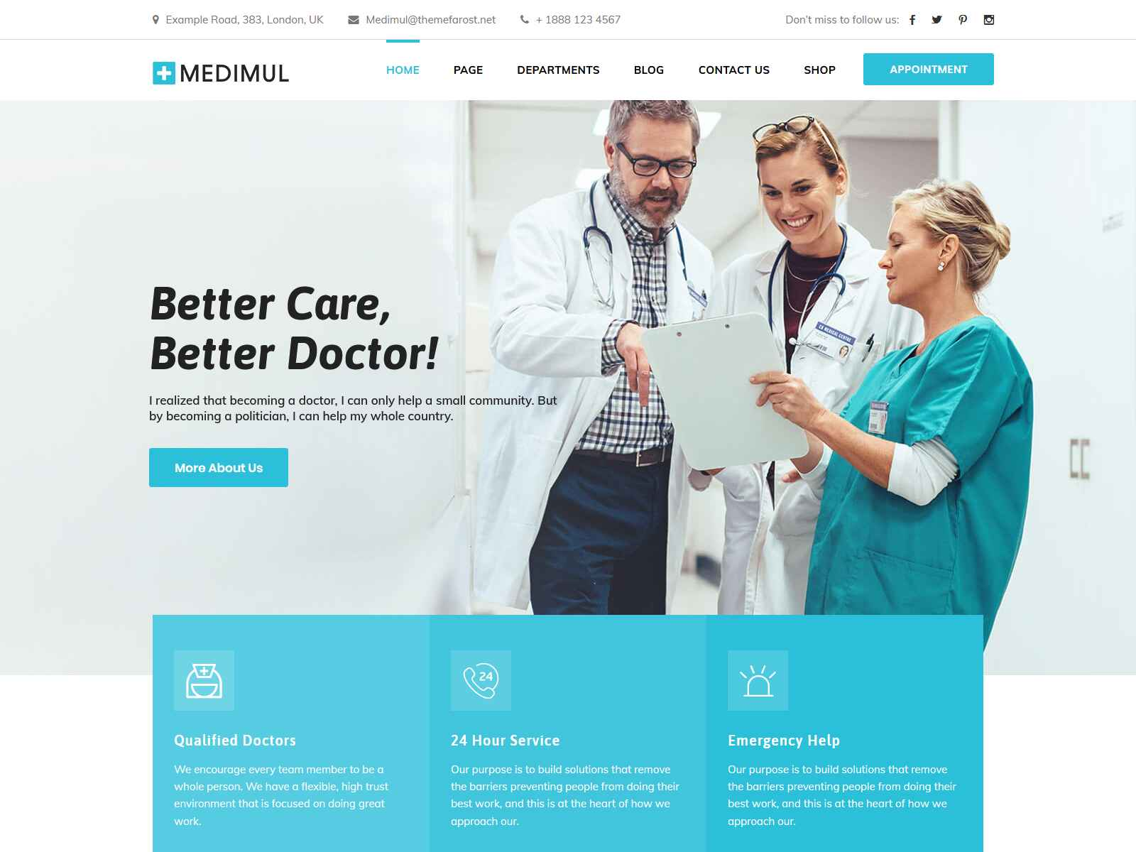 Best Premium Dentist WordPress Themes