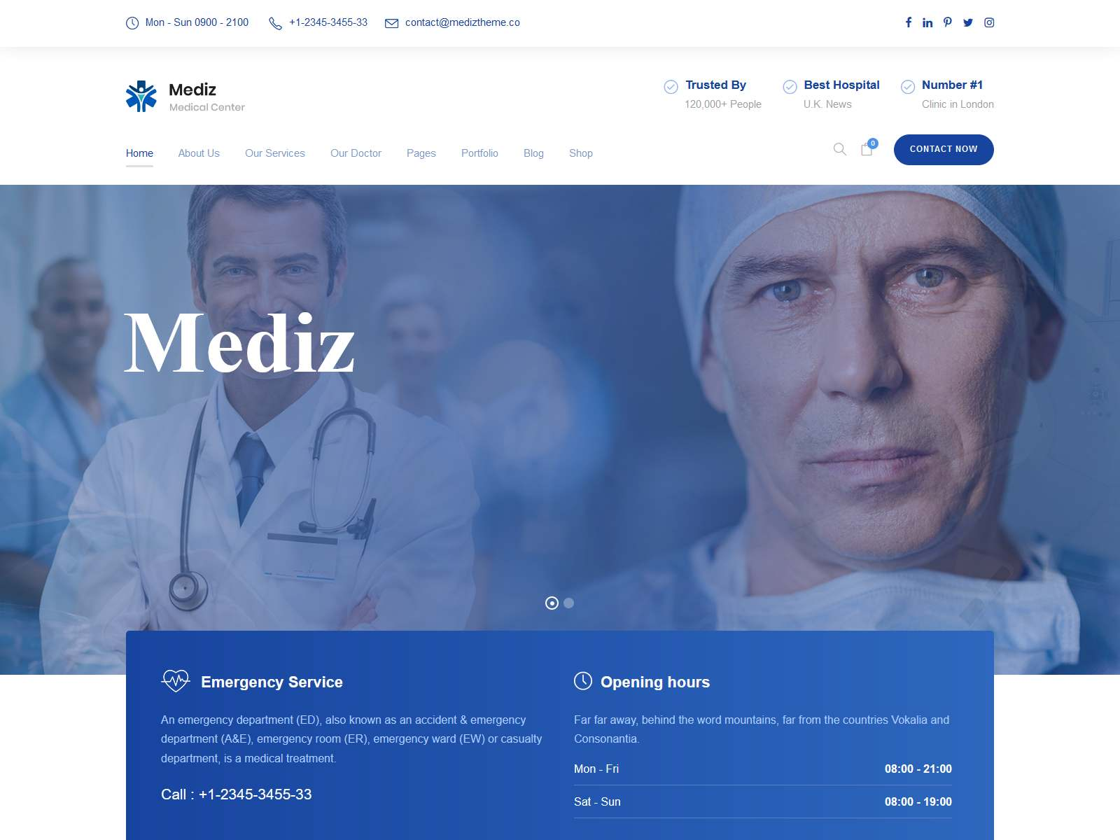 Best Premium Healthcare WordPress Themes