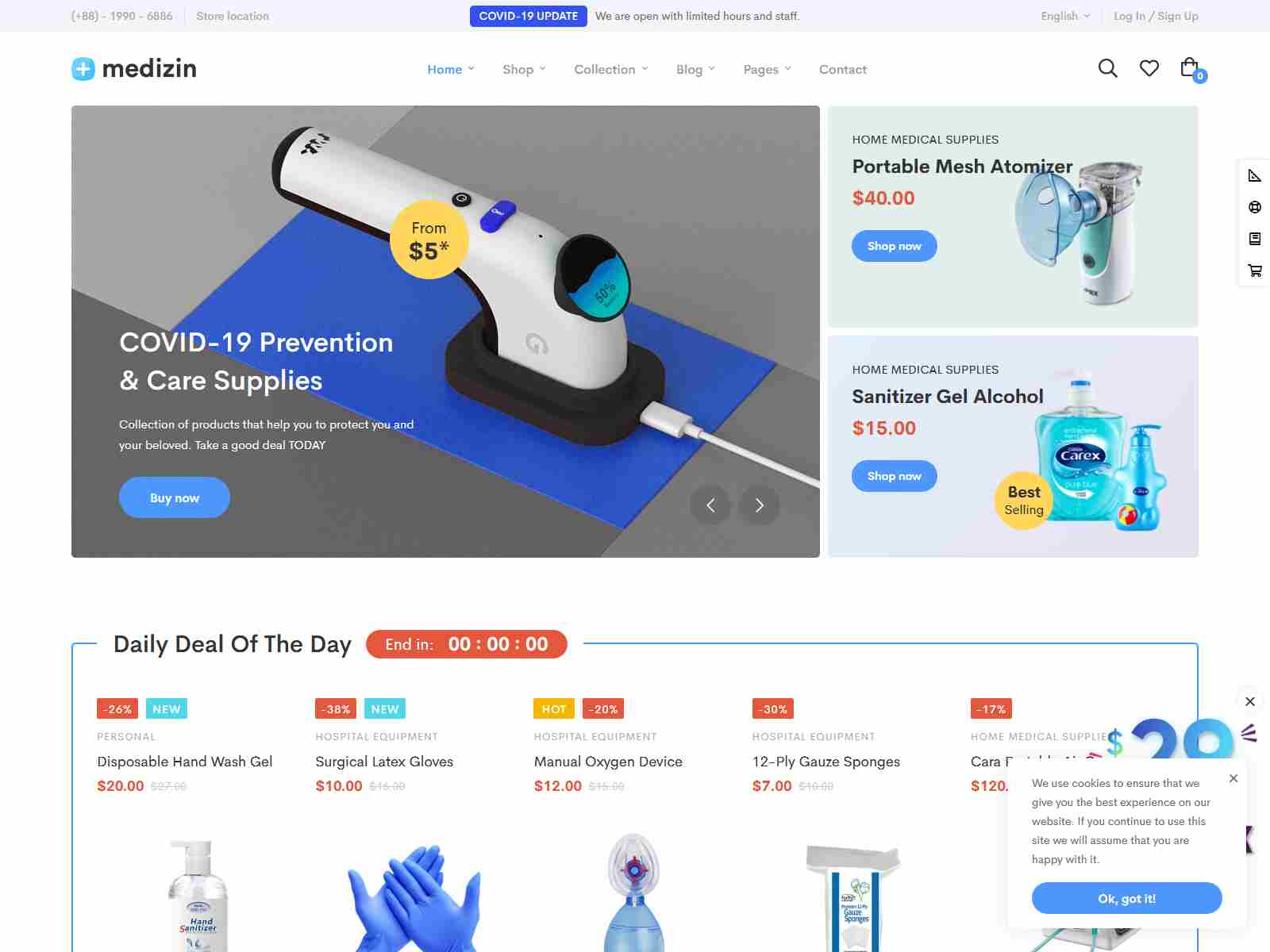 Medizin - Medical Elementor WooCommerce Theme