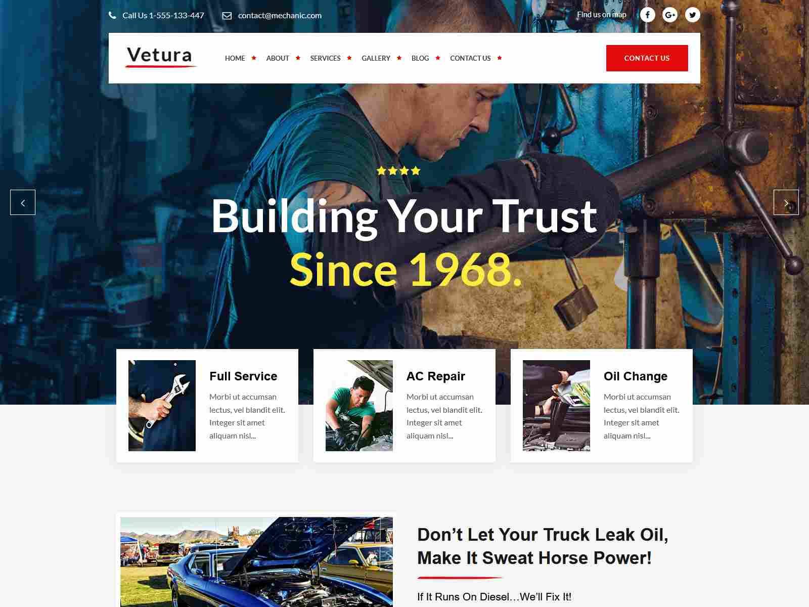 Best Premium Car Dealer WordPress Themes
