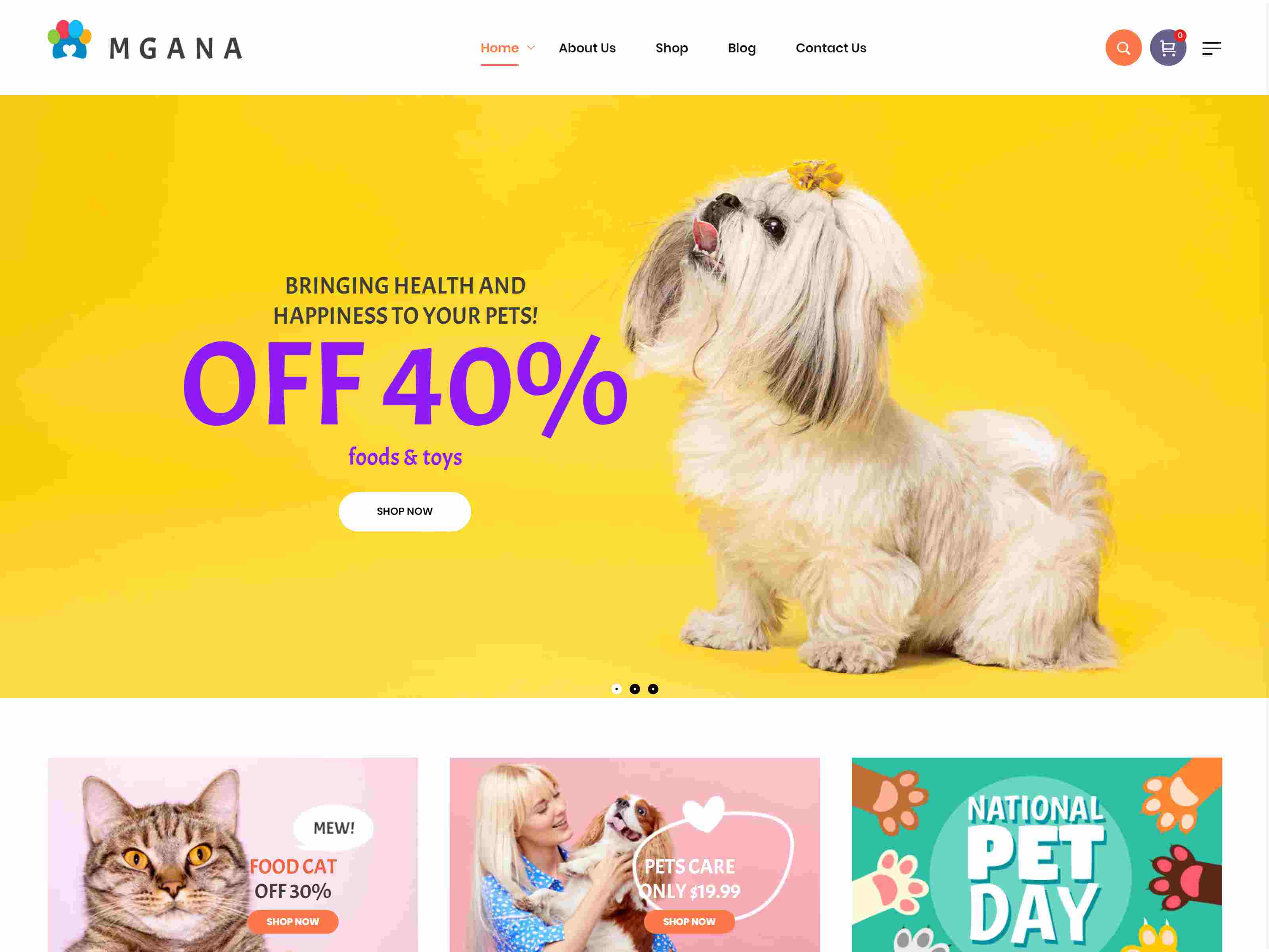 Mgana - Clean, Minimal WooCommerce Theme