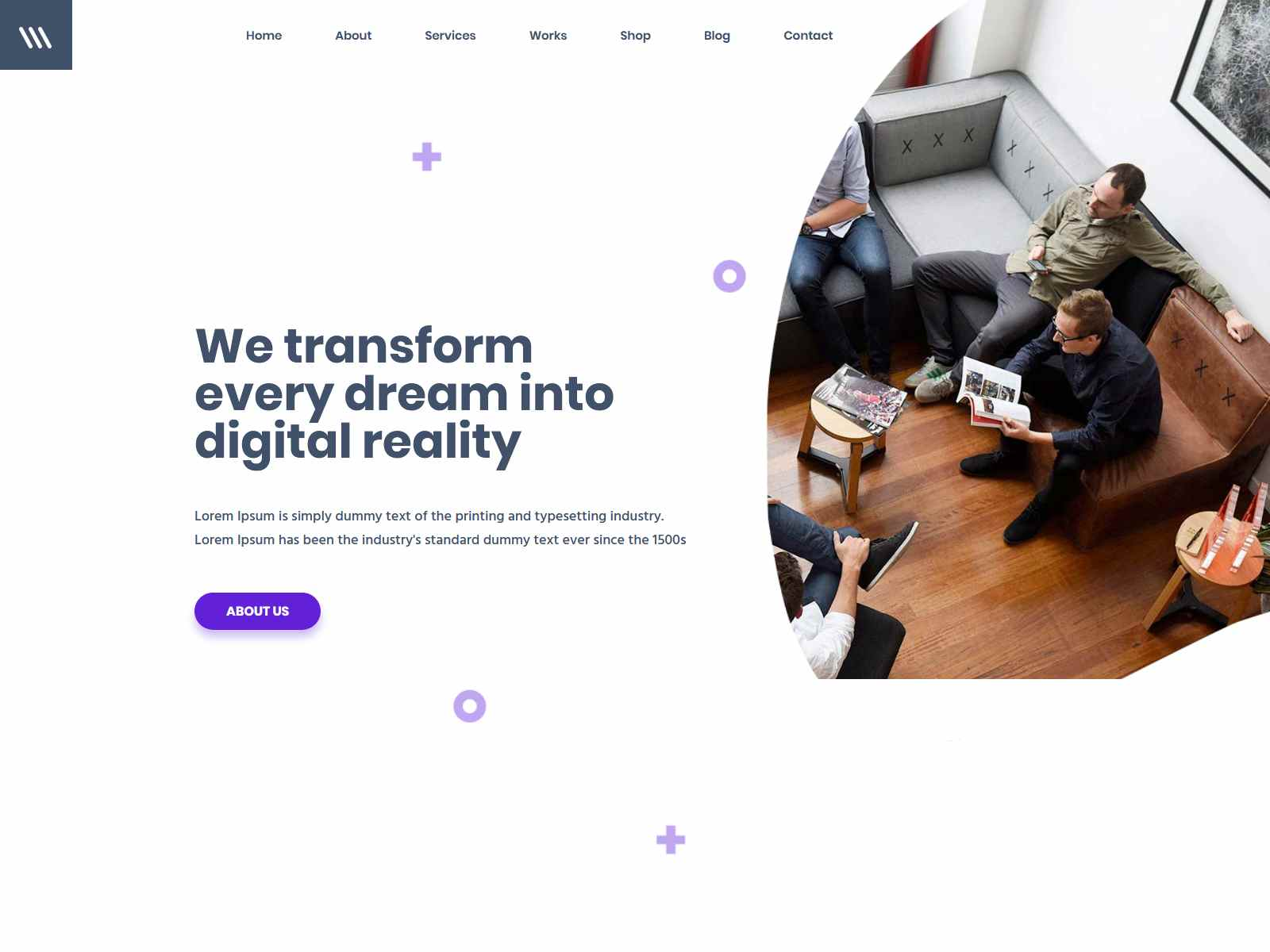 Miex - Creative Agency WordPress