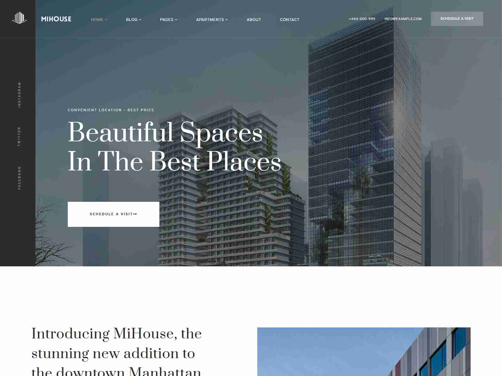 Mihouse – Single Property WordPress Theme