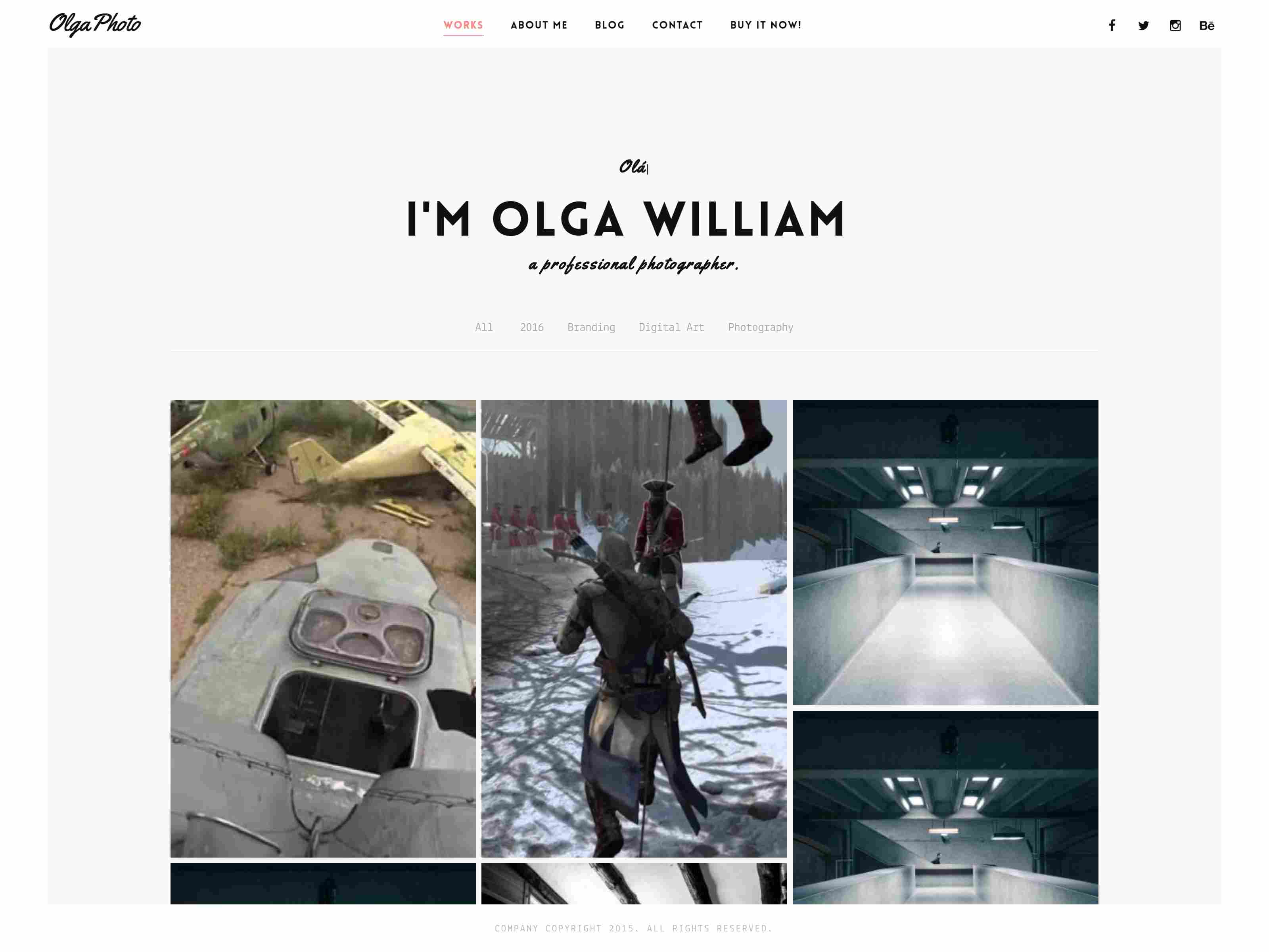 Best Premium Photography Drupal Theme