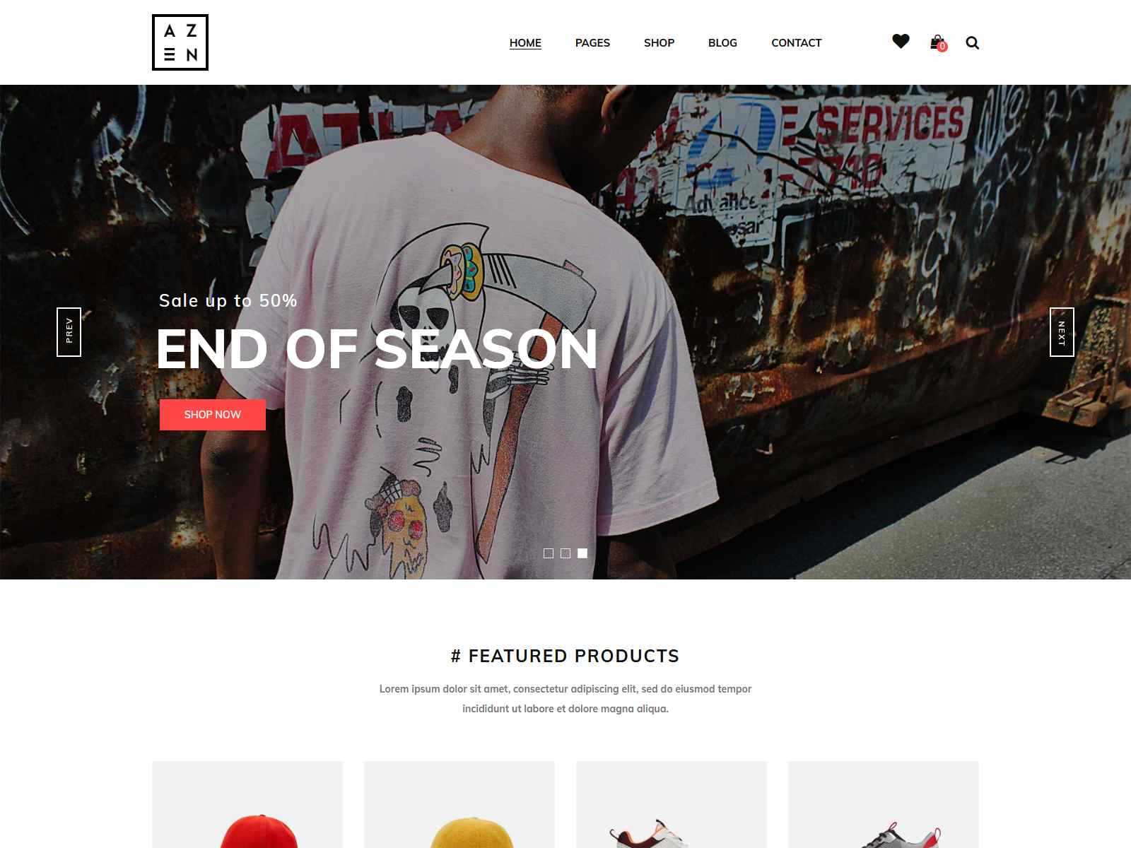 Minimal WooCommerce WordPress Theme fashion wordpress themes