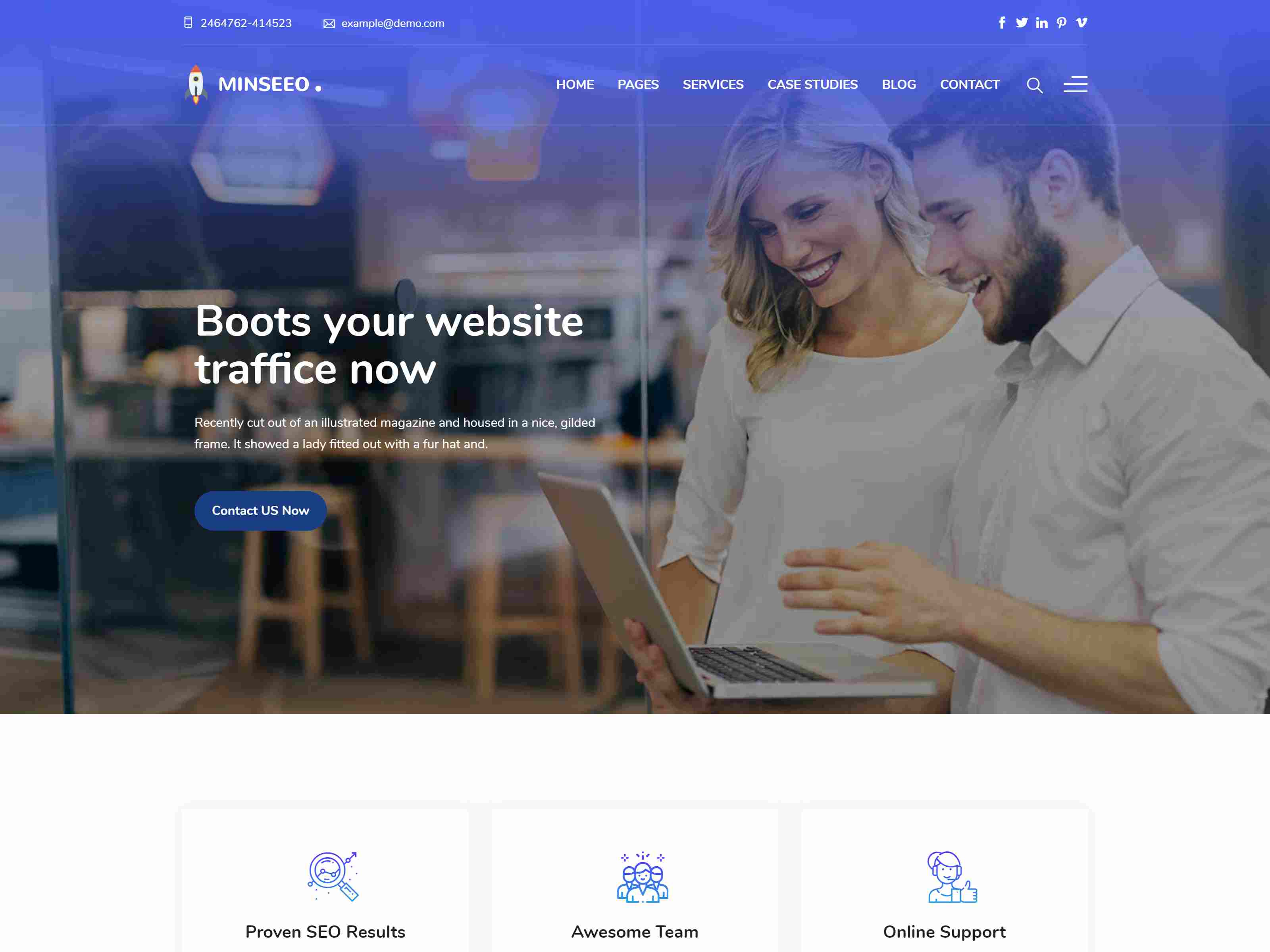 Best Premium Digital Marketing WordPress Themes