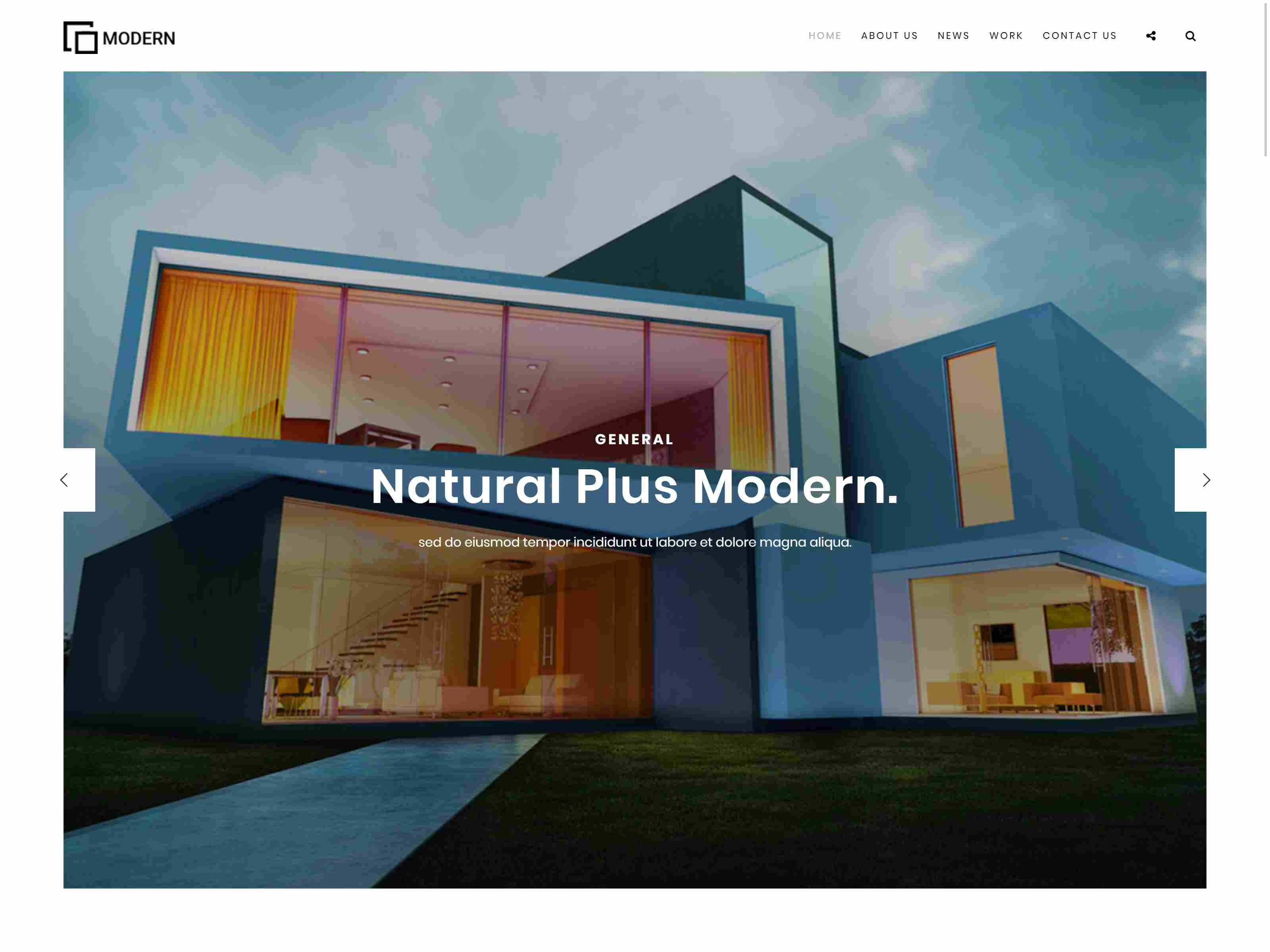 Modern - Architecture & Interior Drupal 8 Theme Architecture Drupal Themes