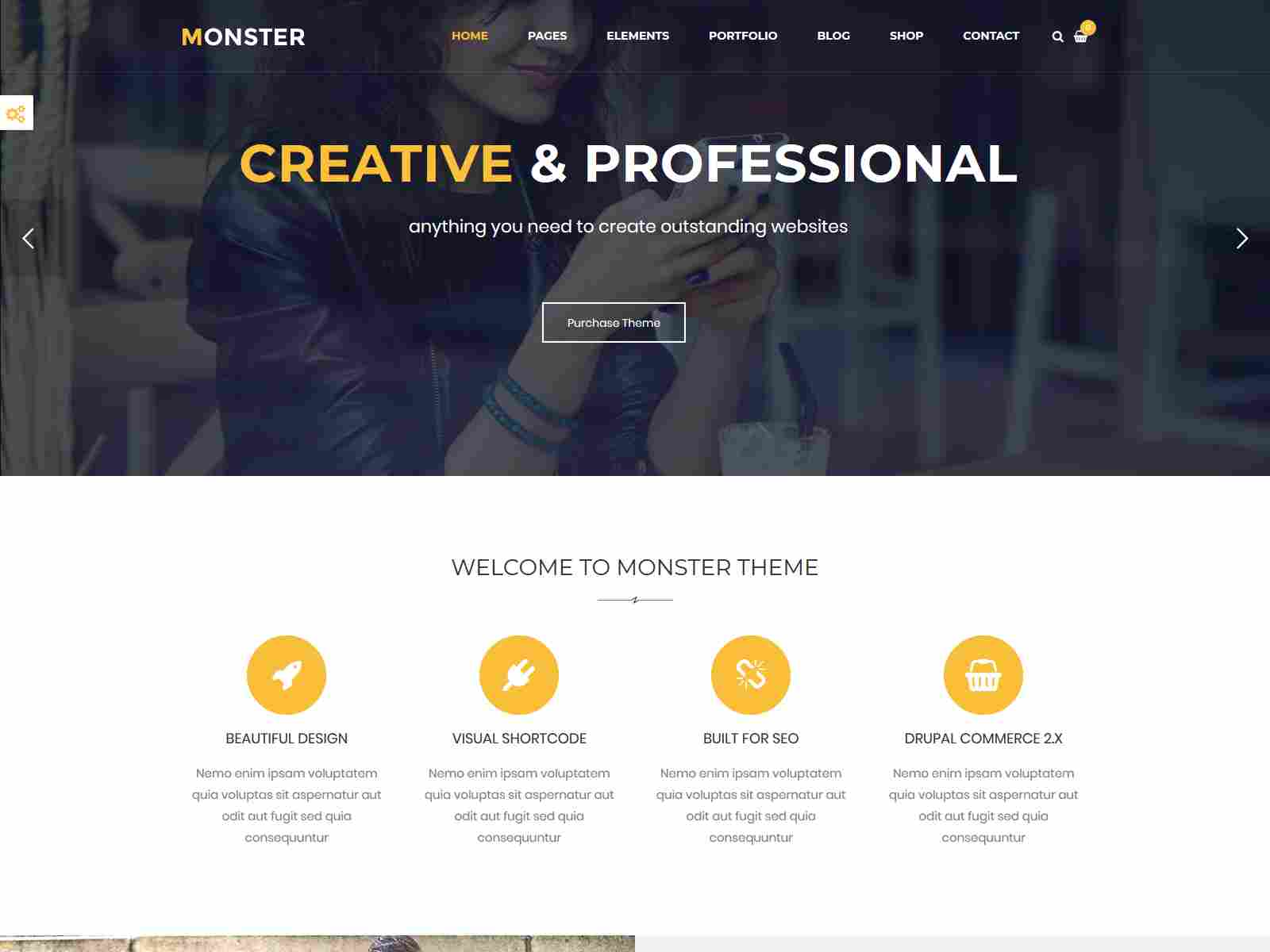 Monster - Multipurpose Drupal 8.8