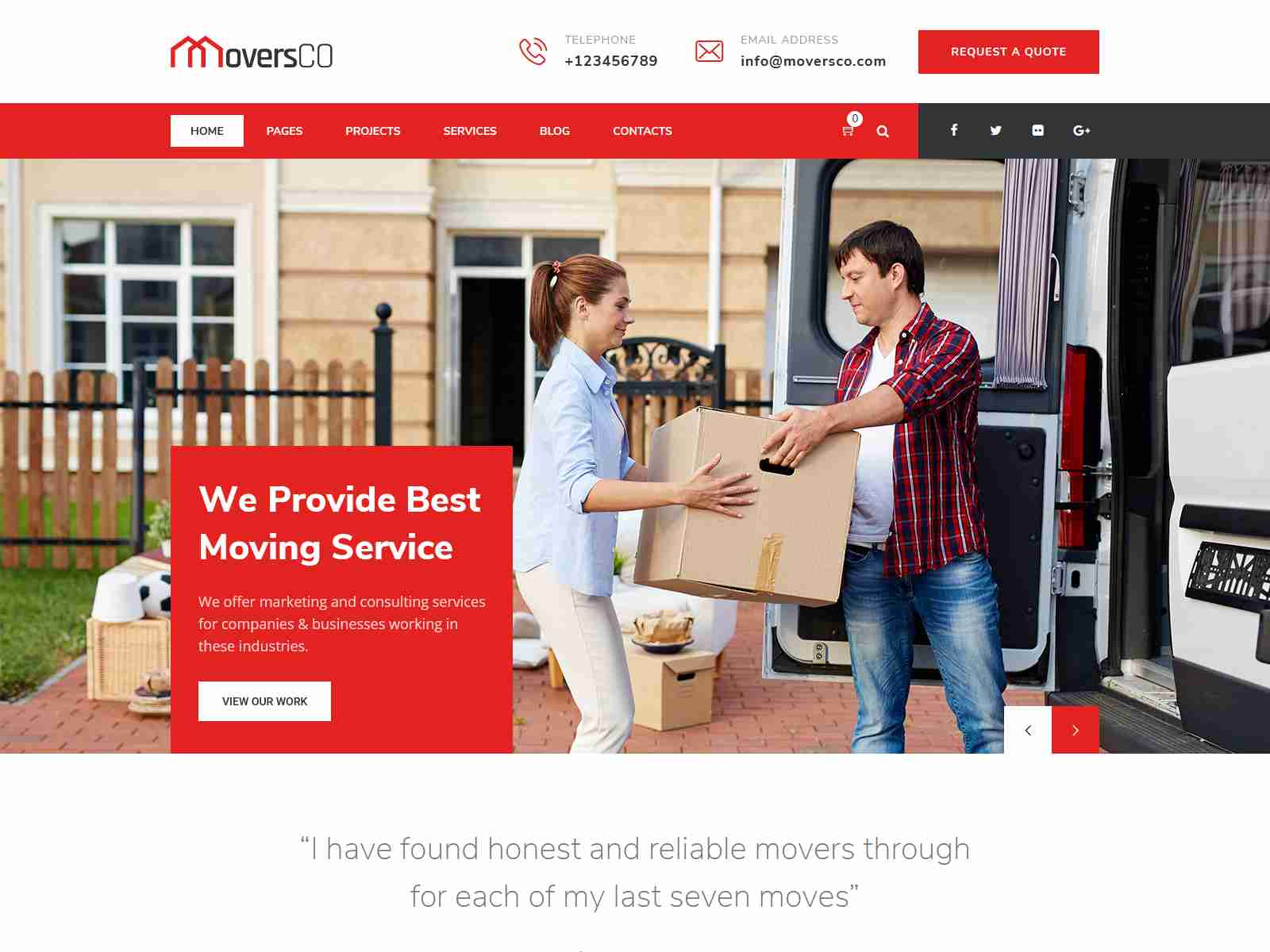 Best Premium Movers WordPress Themes