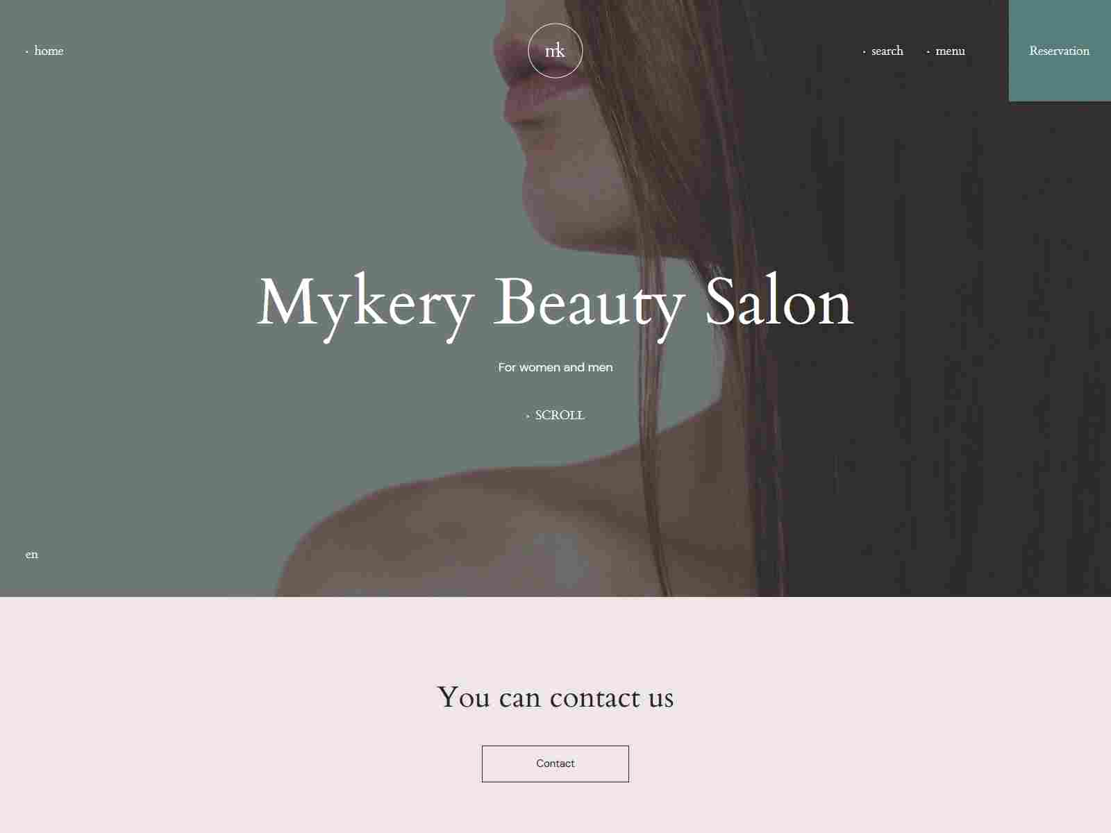 Mykery - Beauty Salon WordPress Theme