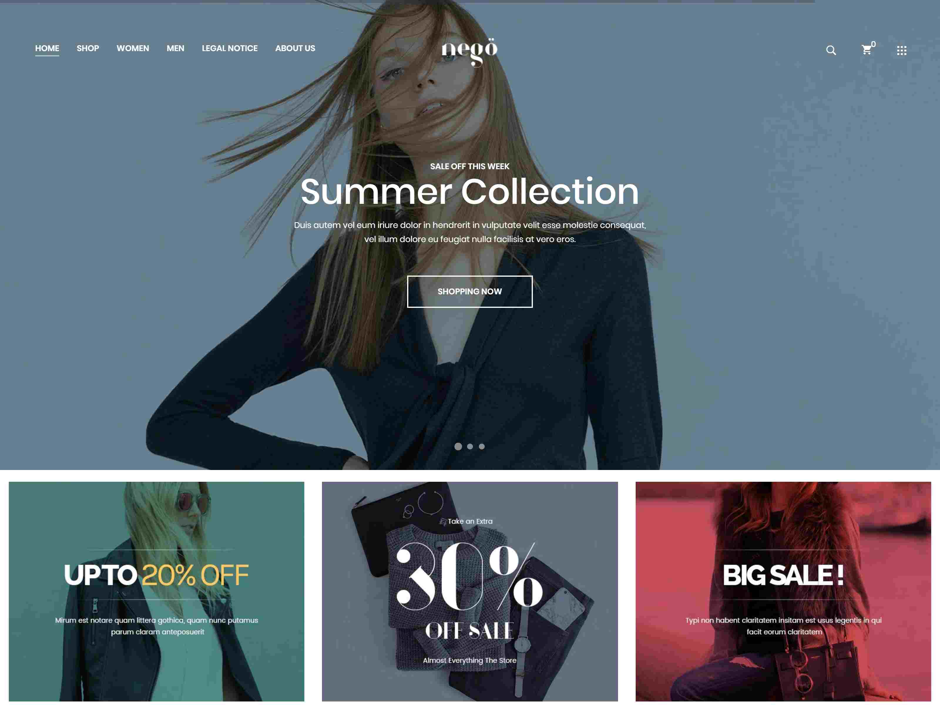 Best Premium Fashion, Clothing Shop PrestaShop Themes